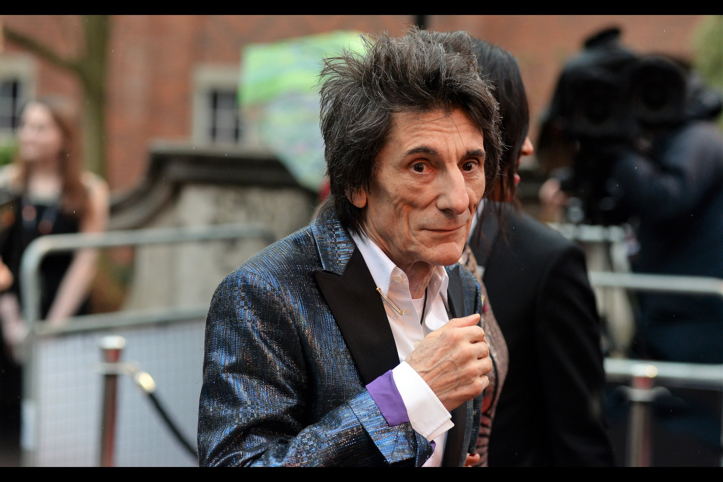 """""""I've been a member of the Rolling Stones for several decades longer than anyone thought we'd survive, so I'm not willing to tempt fate by wearing a """"Time's Up"""" badge. But hurrah for the cause, certainly"""""""