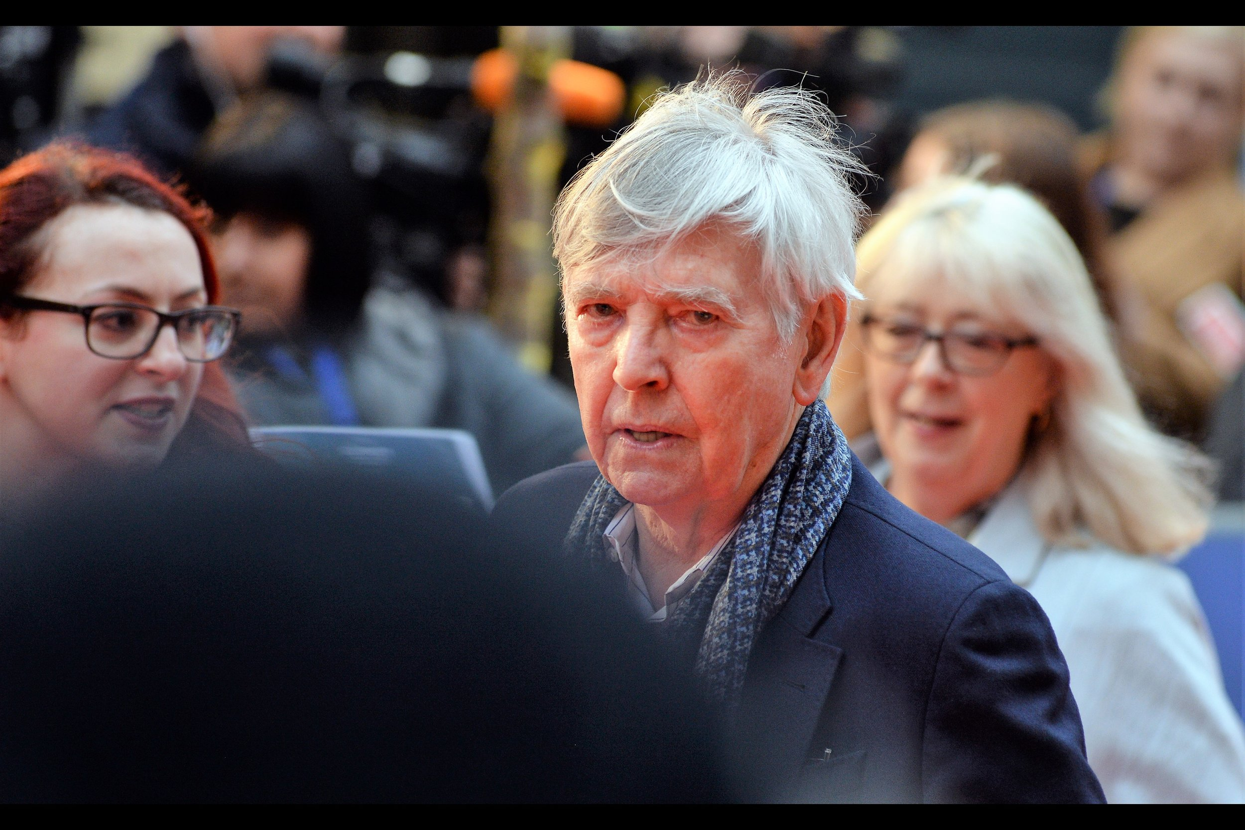 """""""I know you. You're the guy who keeps saying that people owe him five dollars"""".  Tom Courtenay has had two Academy Award nominations - in 1966 and 1984 - and has won three BAFTAs. But I don't talk about the Baftas anymore. Not since the Thing that happened... happened this year."""