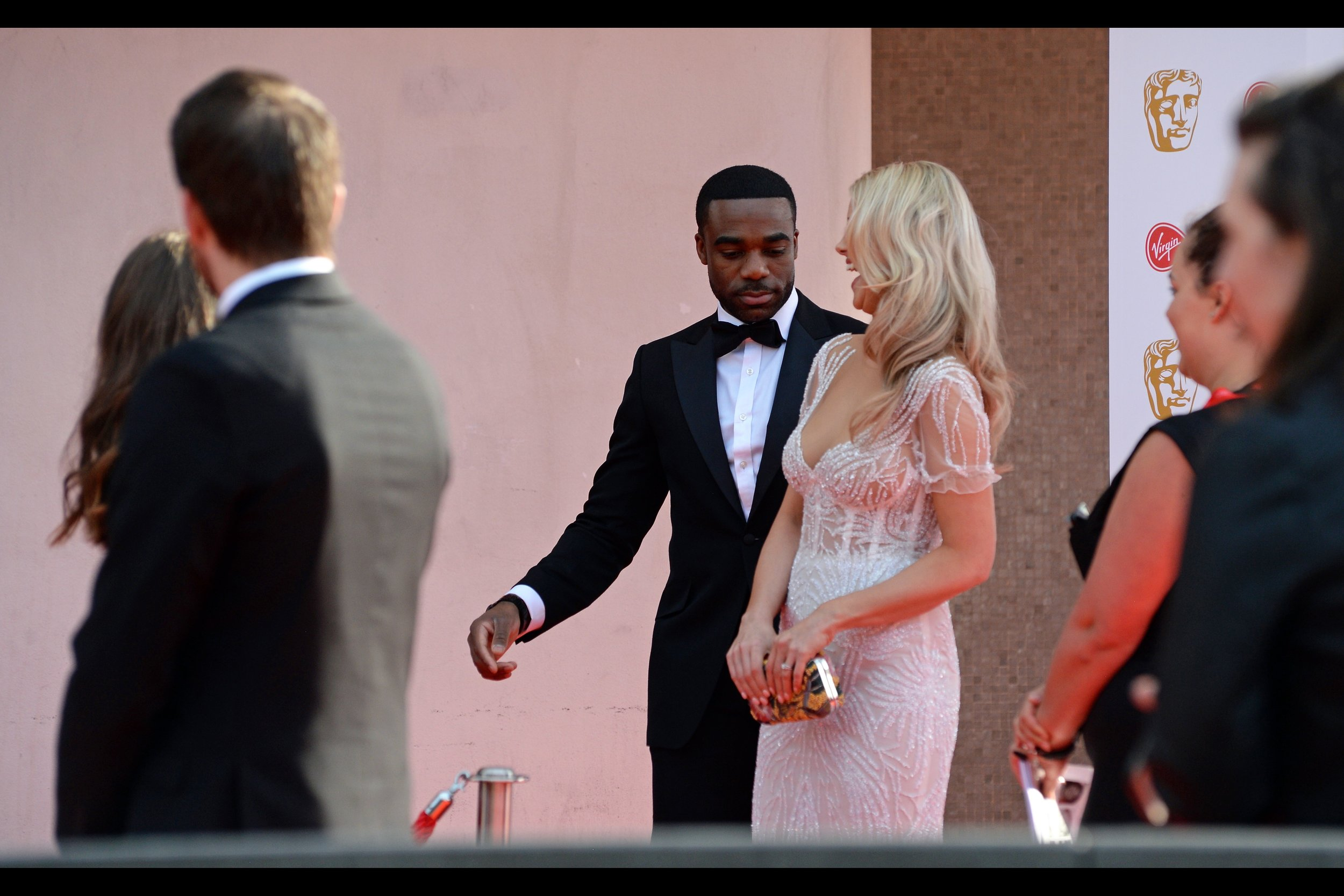 Put down your angry tweets, emails and hashtags : Ore and Portia Oduba (pictured) are married.