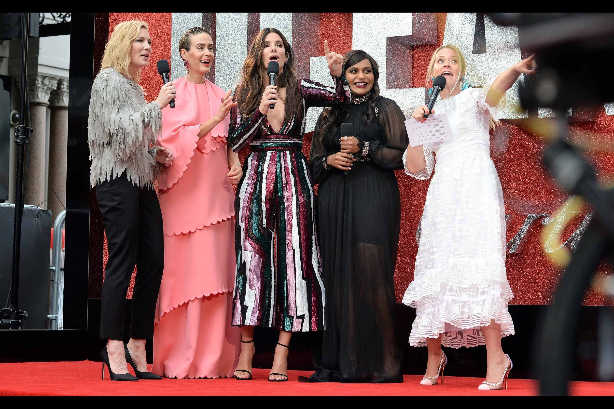 """""""Having eight women (and no men) in the Oceans team wasn't deliberate, you know. It was just a 1 in 256 coincidence. And what's the likelihood that the extra person in Oceans 9 will be a Man, I hear you ask? Umm... about 1 in 512, I think...""""  (But yes, I am aware that the maths for Oceans 12 is pretty heavily outside the 'coincidental' realm by several orders of magnitude)"""