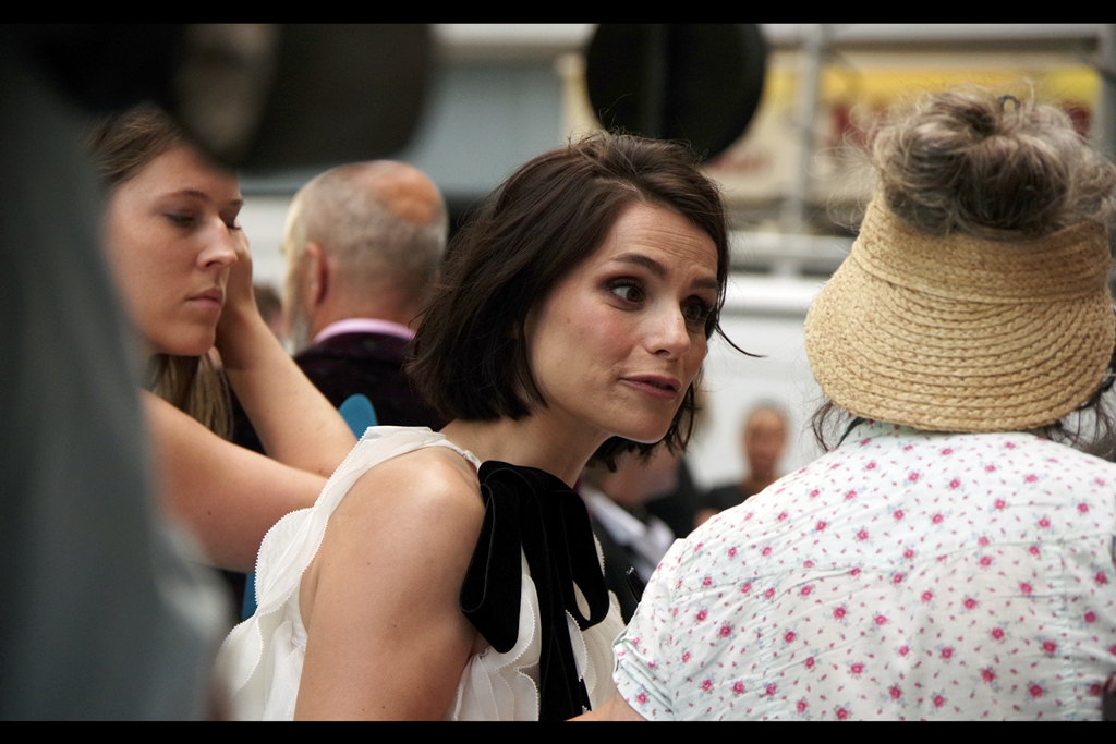 """You can wear a straw hat backwards? How did you find out? Who told you? Do you need to ask permission?""  - Charlotte Riley is best known for being in    ""In the Heart of the Sea""    and also had a small role in    ""Edge of Tomorrow"""