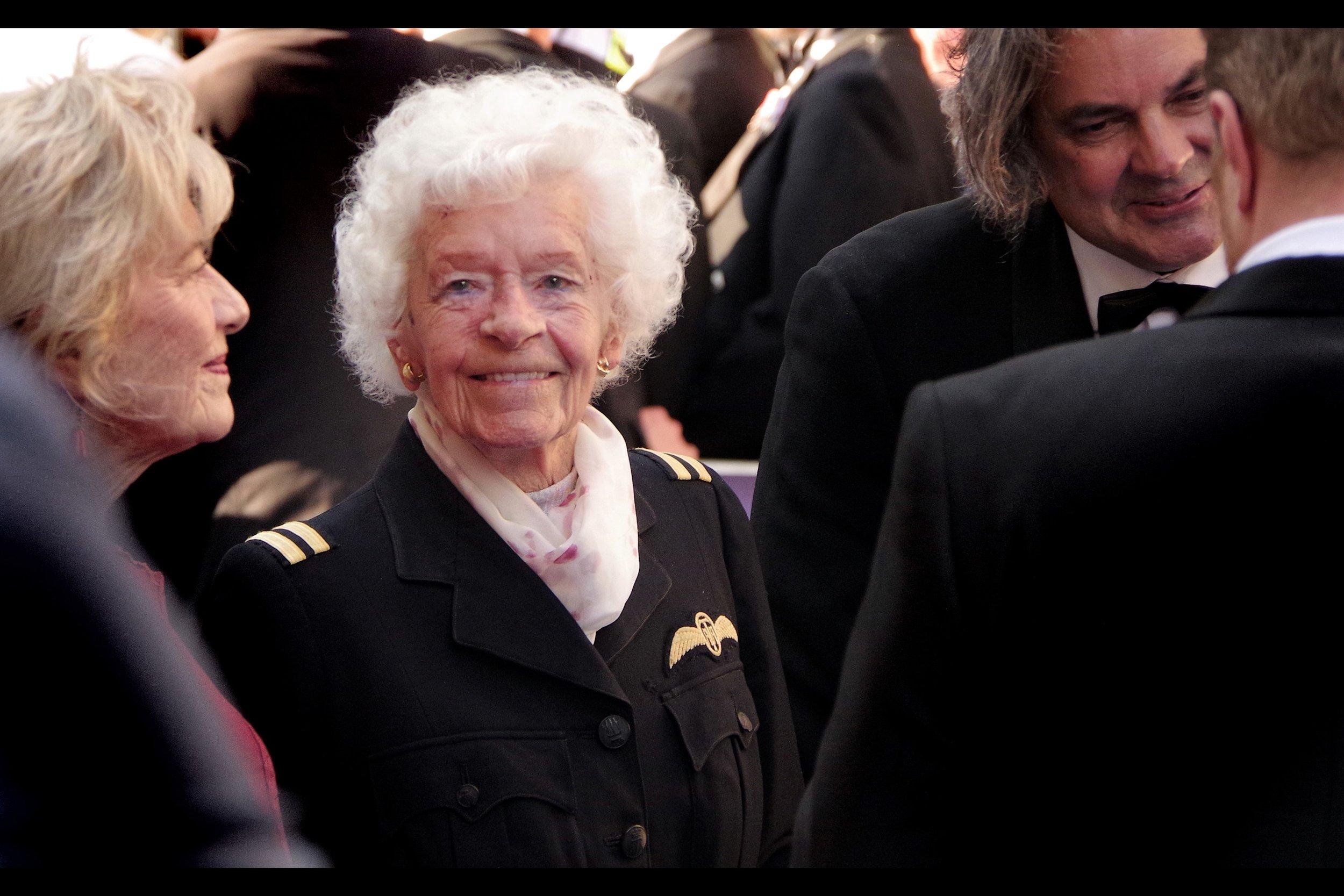 Mary Ellis - RAF Veteran.