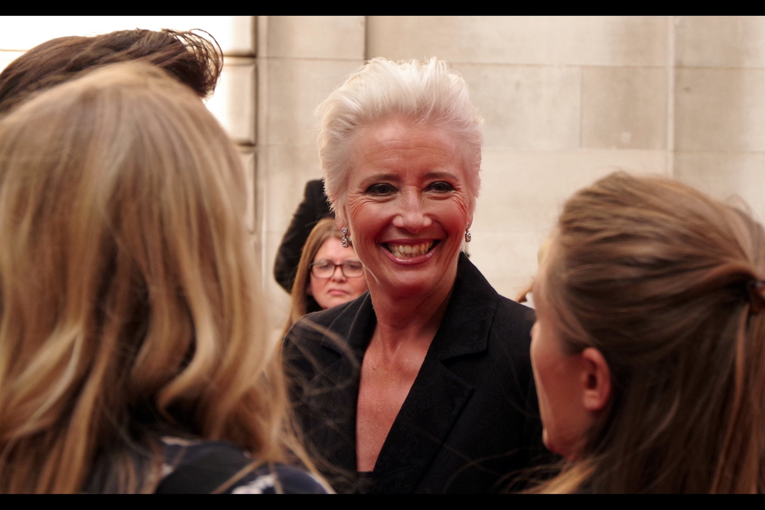 """But I'm a shining beacon of happiness and joy. NOBODY is ever unhappy around me"".  Emma Thompson's filmic biography is long and impressive and includes Shakespeare (Much Ado About Nothing and Henry V), Jane Austen (Sense & Sensibility), JK Rowling (3x    Harry Potters   ), Disney (Brave and Treasure Planet AND    Saving Mr Banks    AND the    Beauty and the Beast remake   )…. and no doubt eventually Marvel/DC and Star Wars to follow."