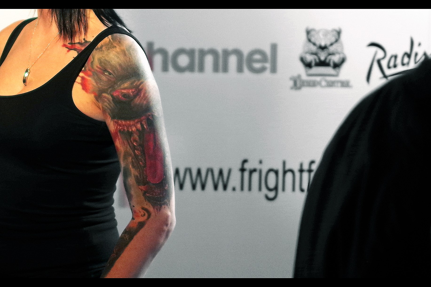 Quick distraction : how awesome is the left arm tattoo/sleeve of the interviewer? I'm not this edgy, though I do have a couple of obscure watch brands in my collection that might impress novices and dismay anyone who actually knows about watches.