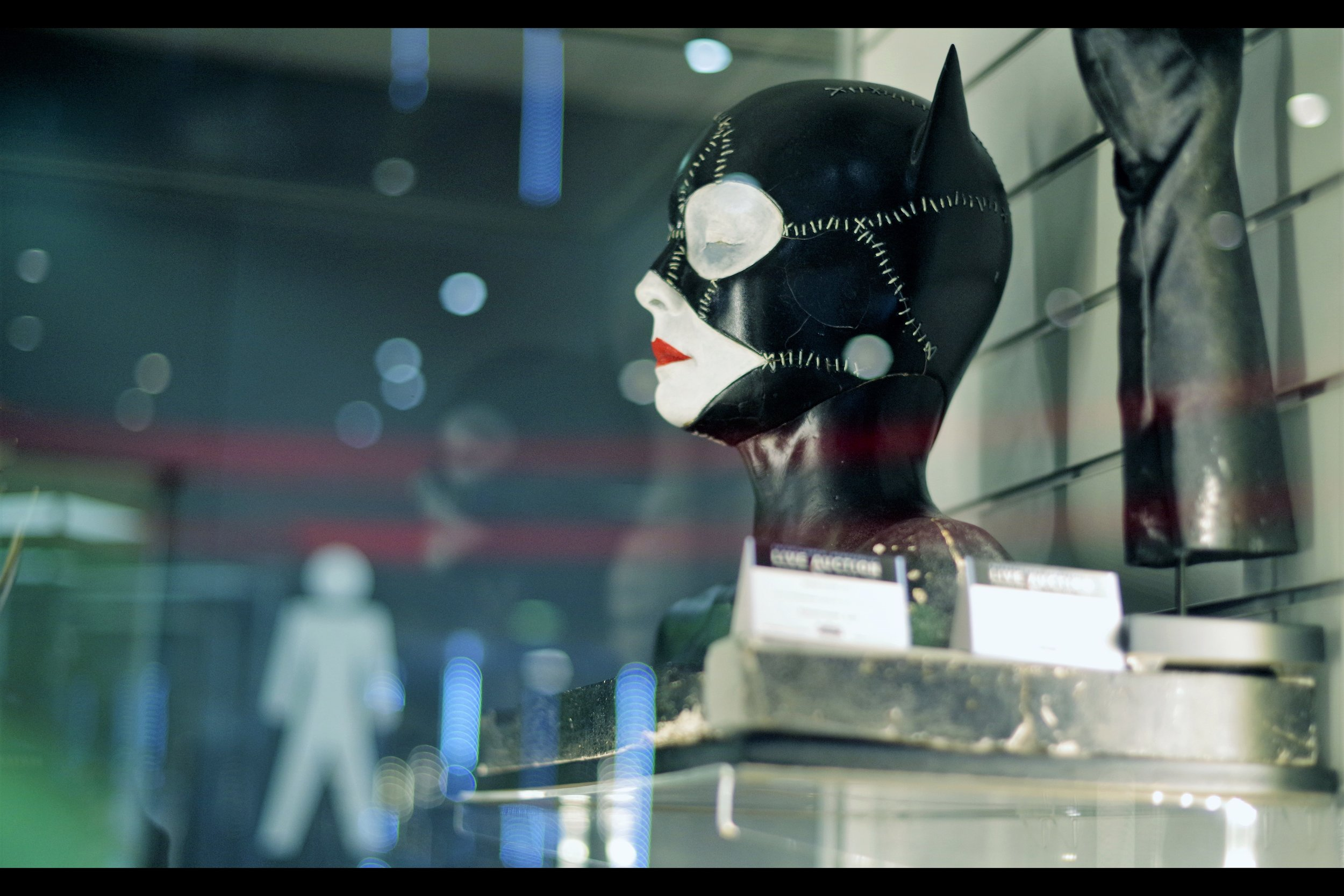 """""""At least with crazy people you know where you stand....""""  Batman Returns Catwoman Makeup Test Bust - winning bid: £3,250"""