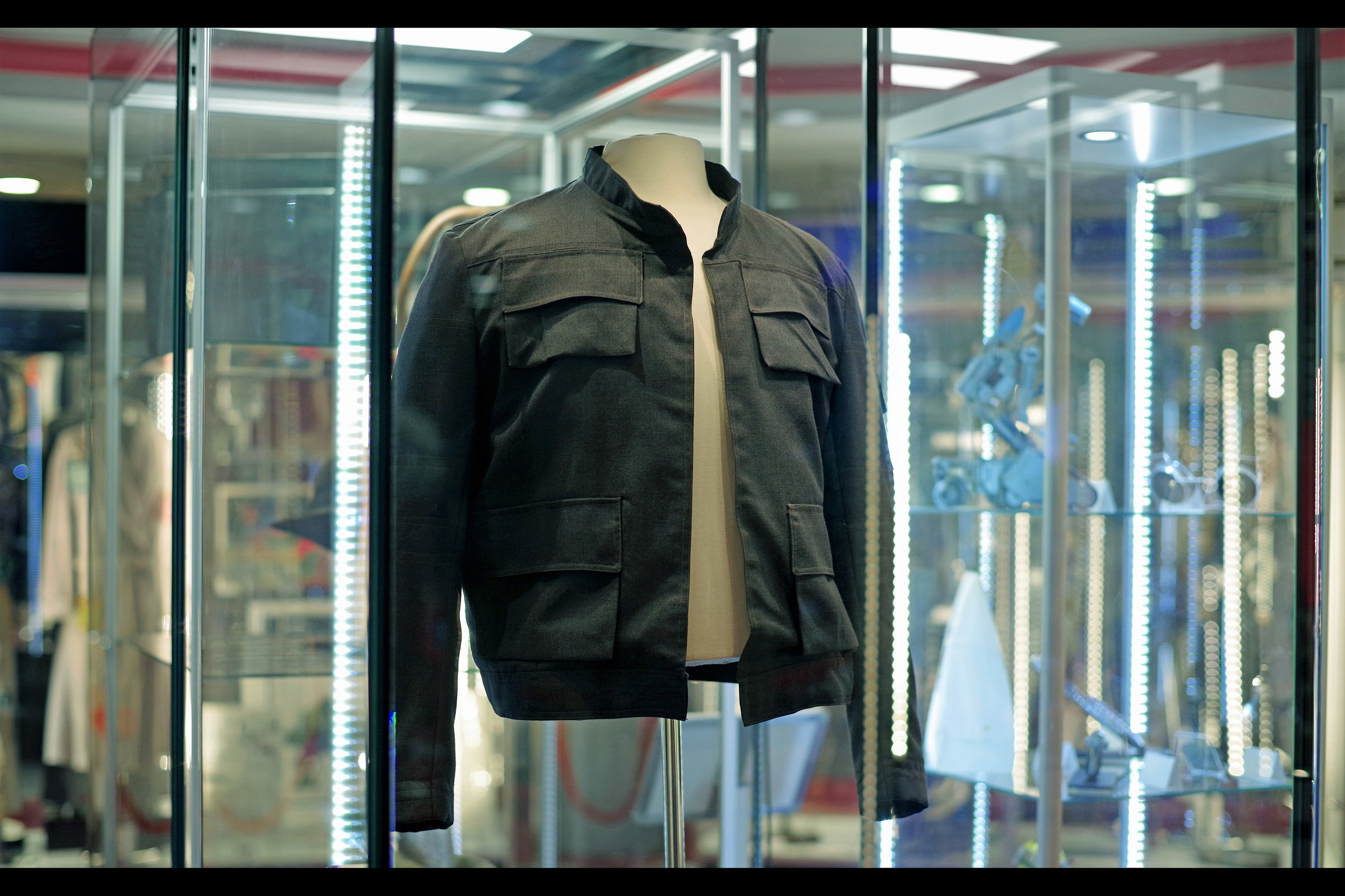 """""""It was probably worth more before they made Solo : A Star Wars story, huh? Better hope they don't make more, huh?""""  Han Solo's jacket from The Empire Strikes Back (apparently there's at least one more, used more on screen, but not in as good condition). Starting bid: £250,000. ….I probably should have asked you to sit down before letting you read that. (good news : it's UNSOLD)"""