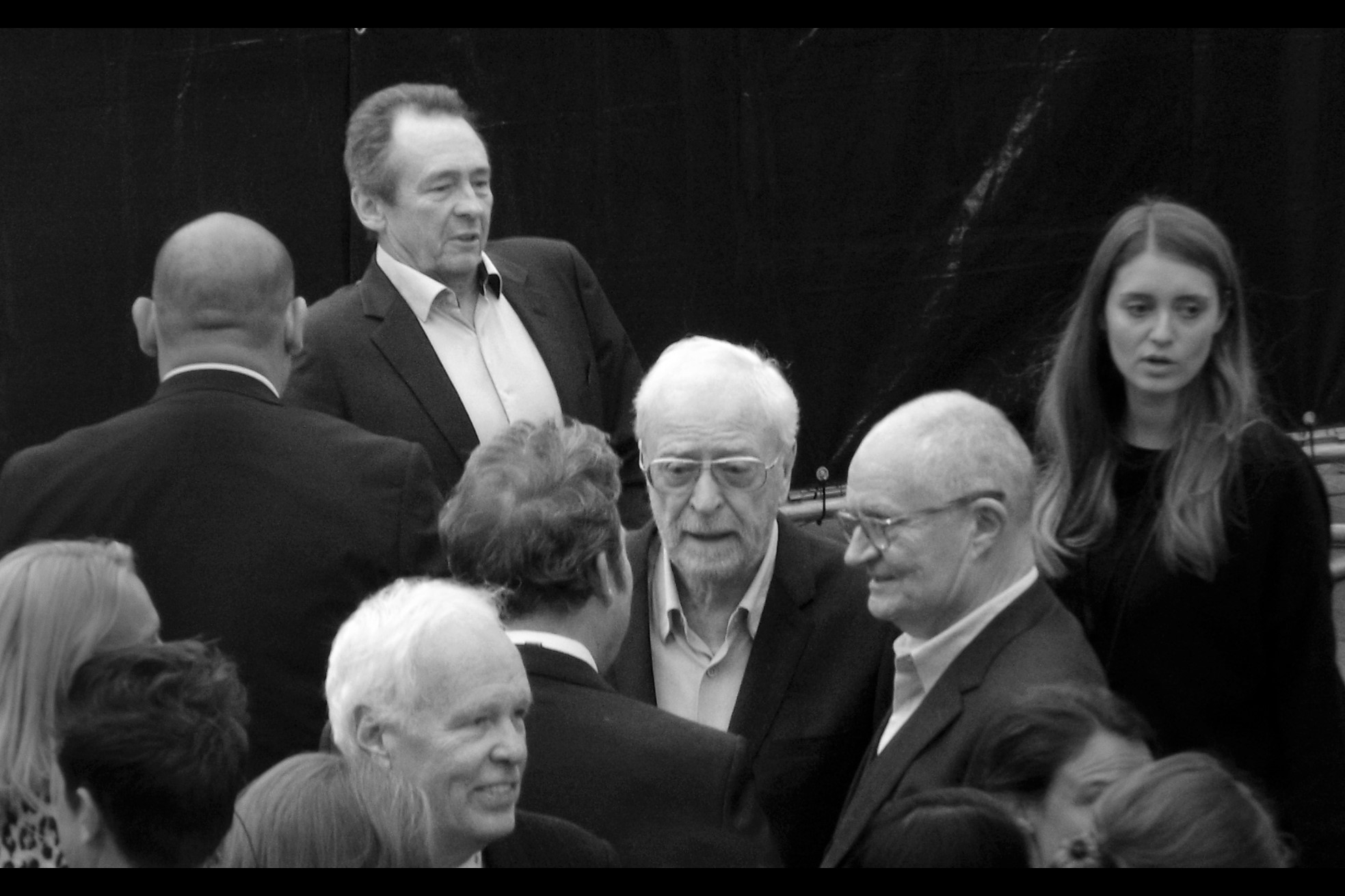 """""""I asked about putting in a musical number but they felt it didn't fit the theme they were going for…."""" """"But they' had one in The Last Jedi!"""" """"Well this is grittier than that movie….""""  Jim Broadbent (at right) played the all-singing all-dancing Harold Ziedler in Moulin Rouge all those many years ago, as well as Professor Slughorn across more than one Harry Potter movie."""