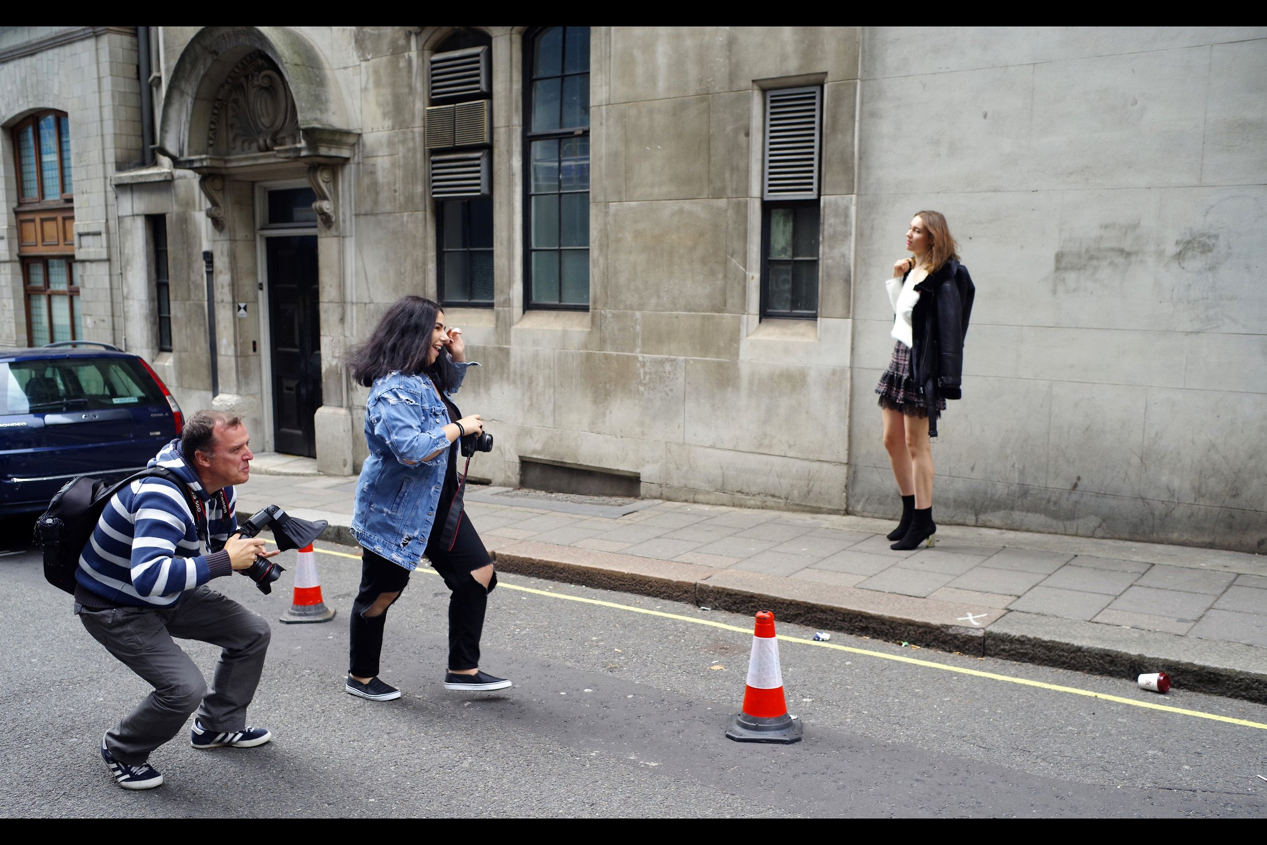 """""""Stop that coffee cup : it's rolling away, and it's the key to this whole Shoot!!"""""""