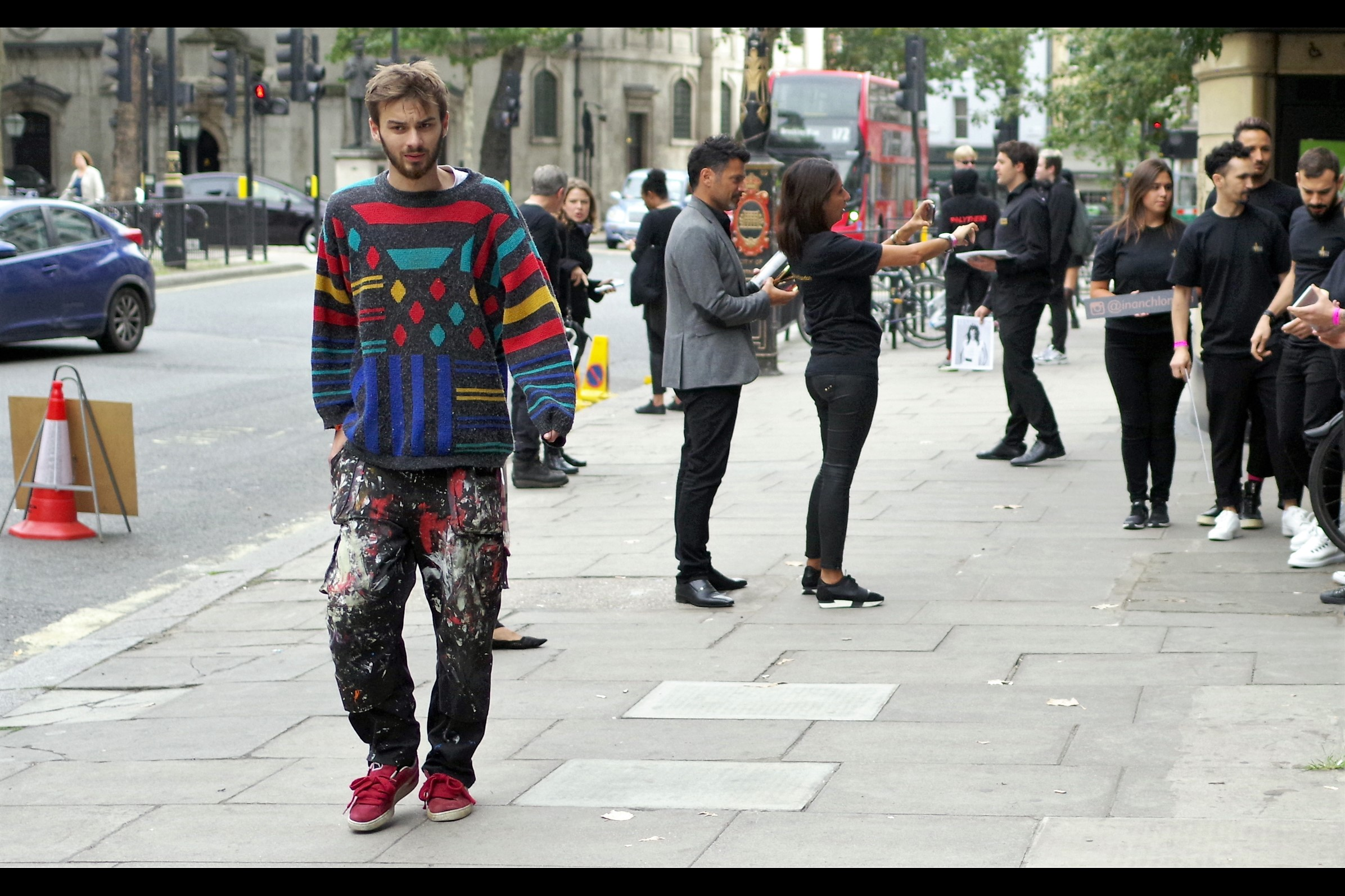 """""""I fought a homeless guy and he threw paint at me… now everyone's offering me thousands of pounds for my 'Fashion'… how do I escape this nightmare??"""""""