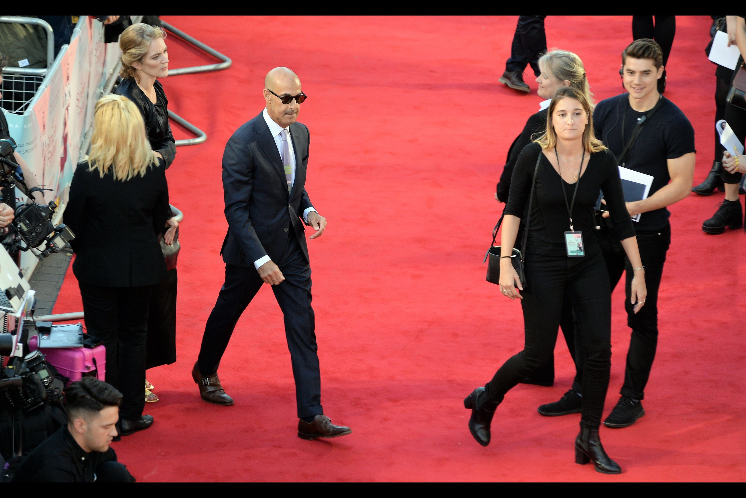 It's Stanley Tucci ! He wasn't at the    premiere for 'The Children Act'    a few weeks back, but I've photographed him now.