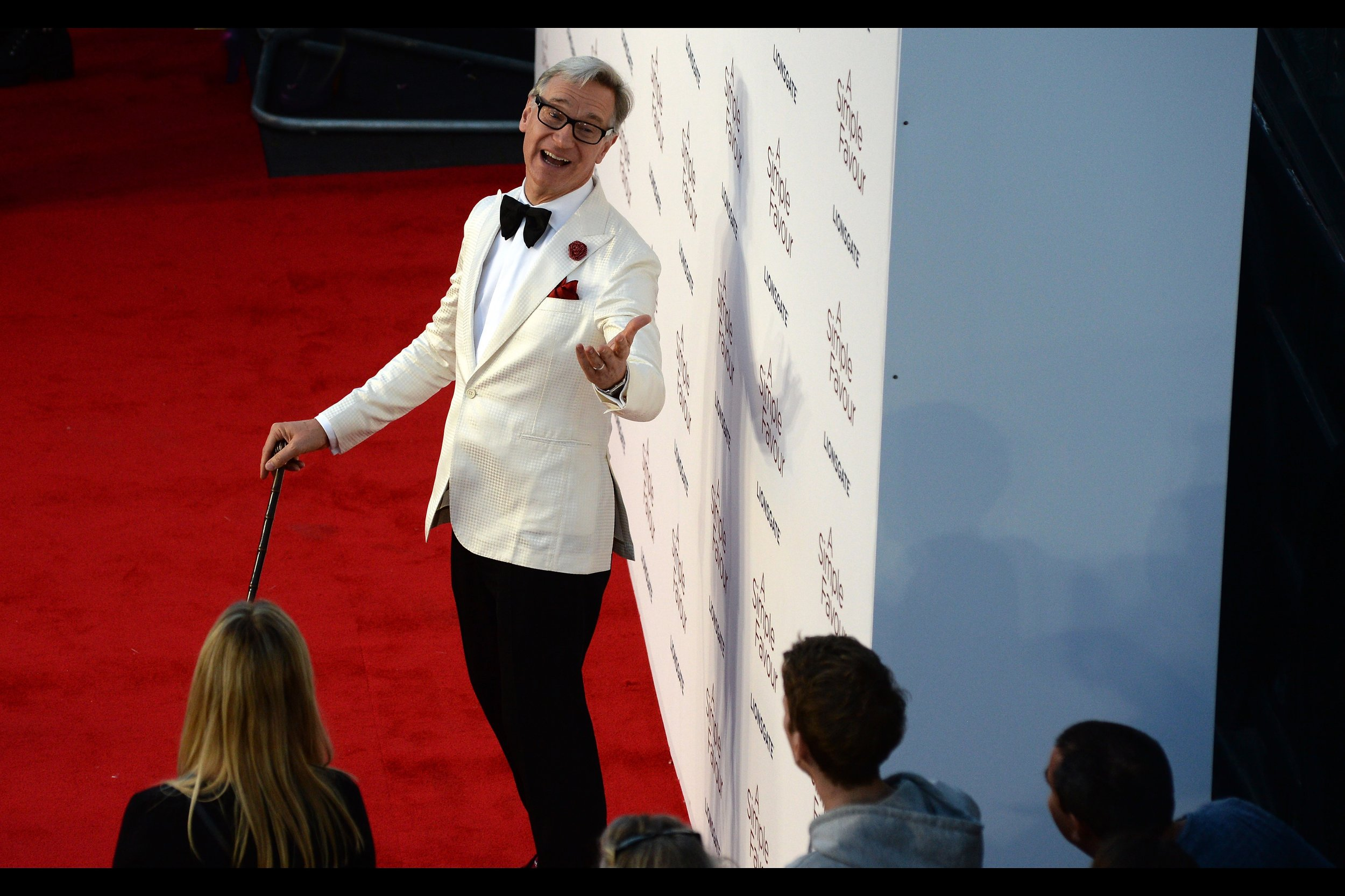 """""""You'll never be as dapper as me… if you were, it would make me less dapper, which would make you less dapper, and before we knew it, we'd be stuck in a spiraling out-of-control cycle where we might as well both be wearing rags""""  - Director Paul Feig."""