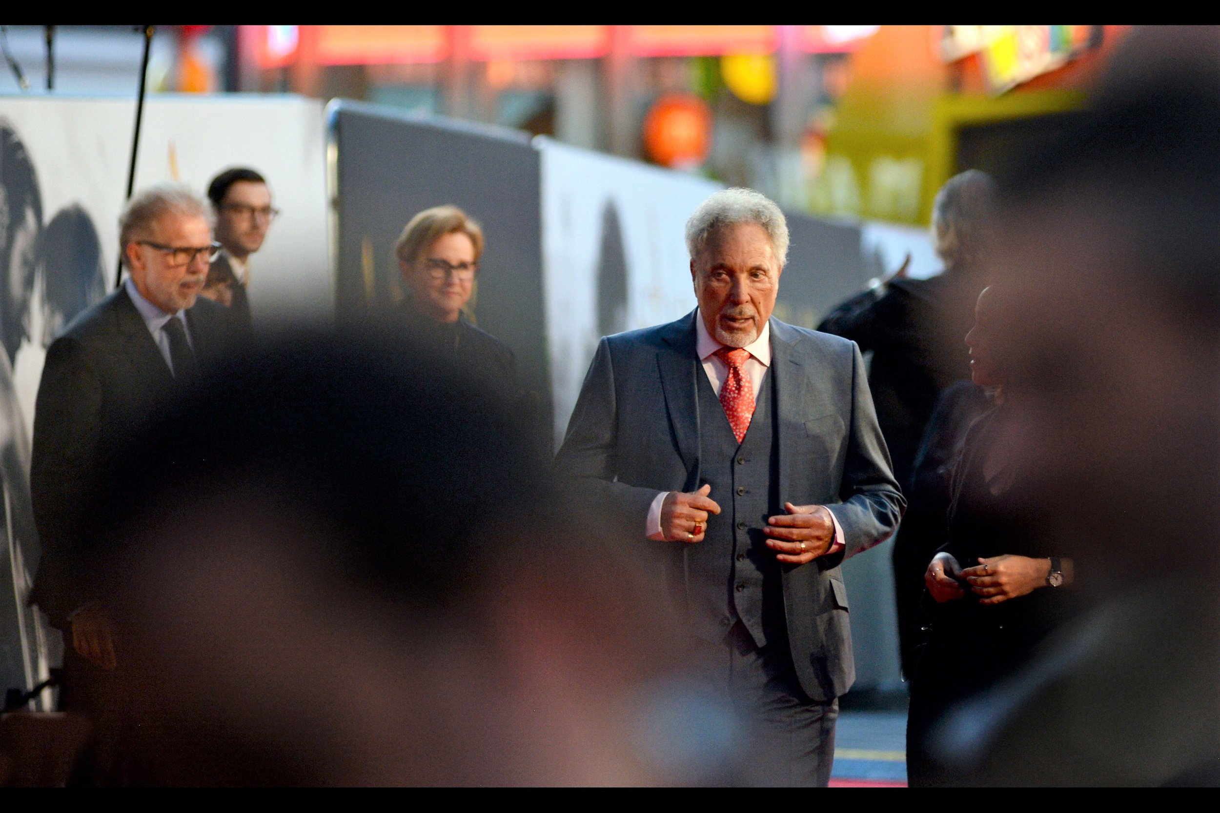 It's Tom Jones! He's best known for being Welsh Singer Tom Jones - recipient of a knighthood and also a Grammy Award Winner… for best new artist in 1966, in a career that has subsequently spanned six decades.