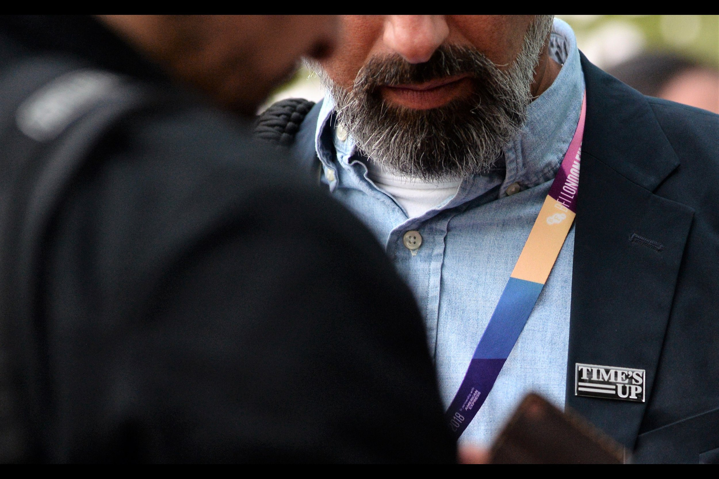 My initial feeling on Time's Up was that any organisation that bascially bullied, coerced and name-and-shamed people who didn't wear their slogan was unlikely to last long. But now that not everyone's wearing these badges, they somehow seem more sincere. Just my thought.