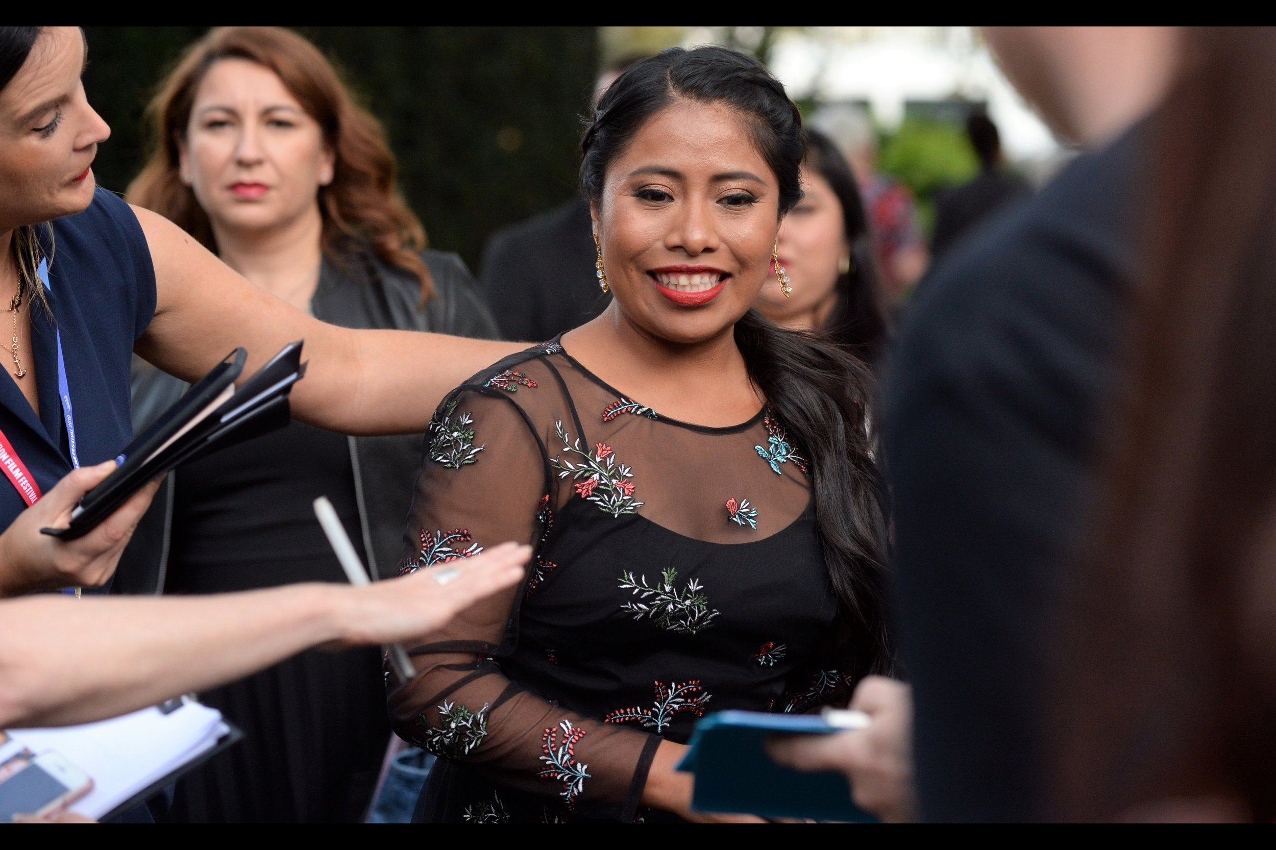 In contrast, Yalitza Aparicio is in this movie and this movie is her ONLY imdb.com credit, and she plays a character with only a one-world name. Now that's minimalism + cool!