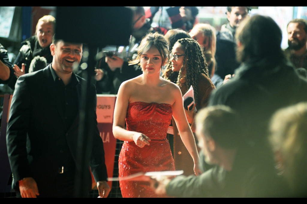 """""""I think Tangled is me… so is Bolt…. and so is Cars2…. but what the hell is 'The Quiet Ones'??"""" """"Oh… I… erm…""""  - that's the first premiere I photographed Olivia Cooke at!"""