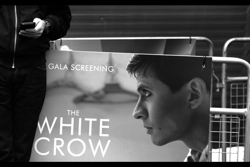 Apparently it's a movie about dancer Rudolf Nureyev. As clearly implied by its title…? Big disappointment for ornithology fans wanting a movie about an albino bird, I'd guess.