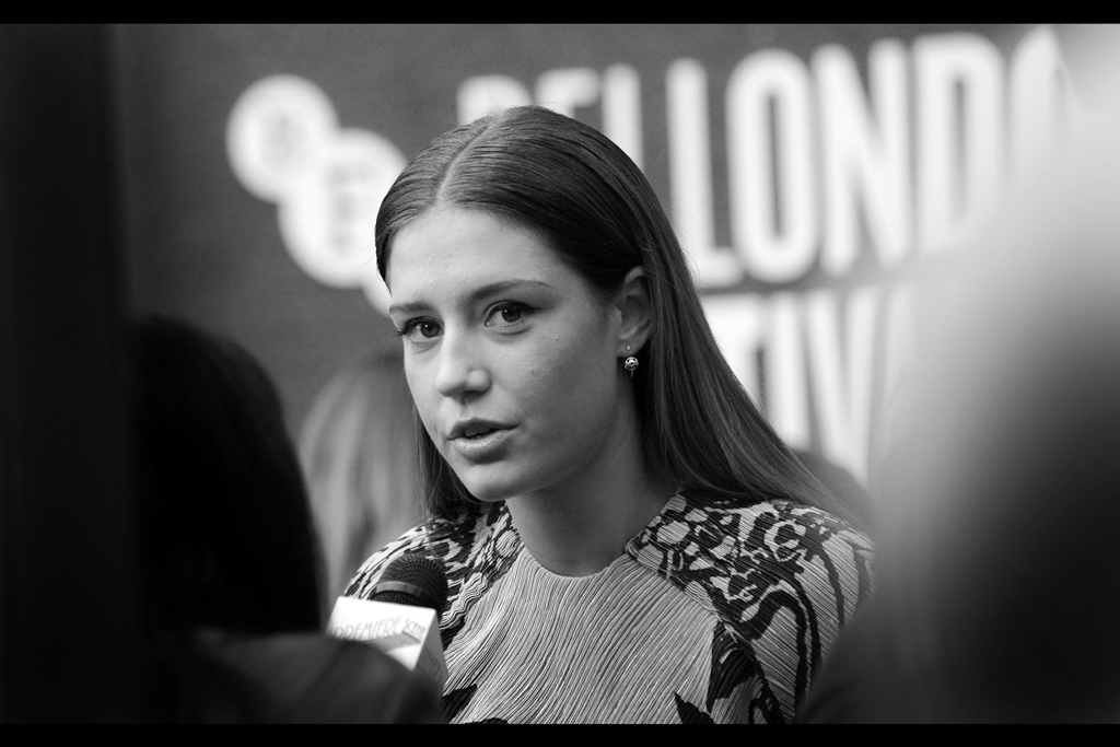 Adèle Exarchopoulos is a name tricky enough to type I've found it easier to copy it once and then keep copying it for this journal. True Story.