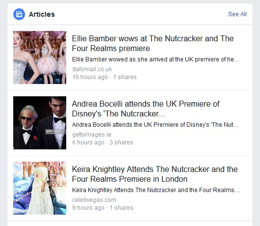 and Facebook cites articles by the  DailyMail, GettyImages and CelebVegas … all of whom refer to it as a premiere. (Two of them call it a UK Premiere? Who gives a 5h1t about accuracy at this point, really…. )