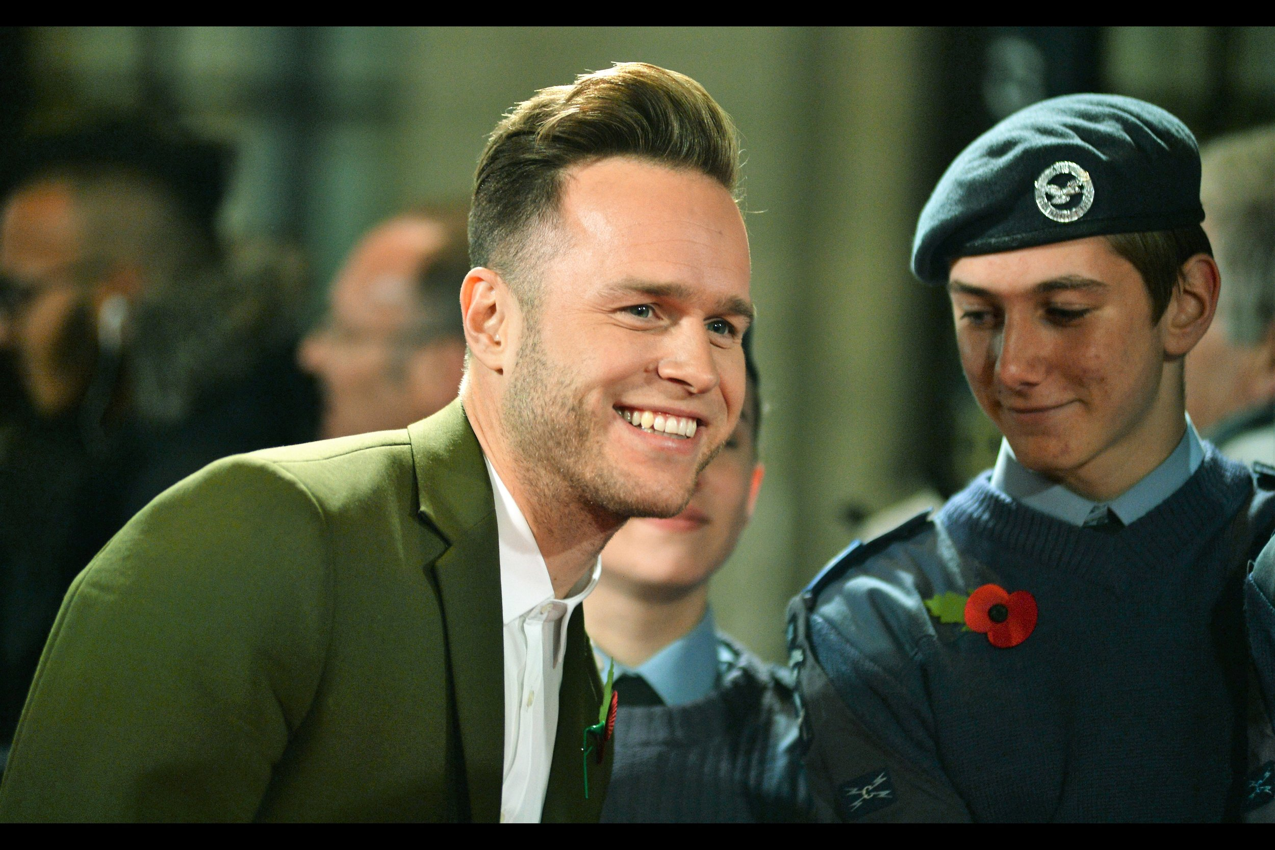 """""""It's not hair receeding, it's brain advancing""""  (trademark/copyright Australia's Own Dr Karl Kruszelnicki, whose permission I did not gain or seek to use this here) - Olly Murs."""