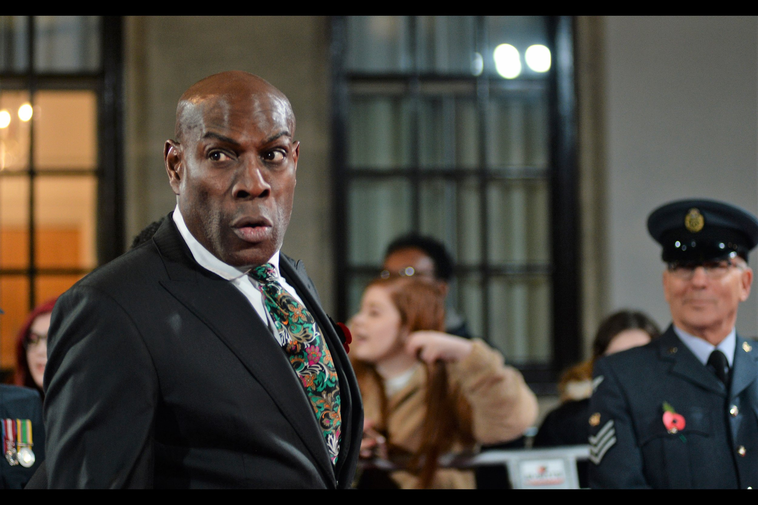 """""""My right hook can still do a truckload of damage, bro. As for my right LOOK, well you should still be feeling at least a bit queasy…""""  Frank Bruno is a former <insert specifics of title> Heavyweight boxing champion."""