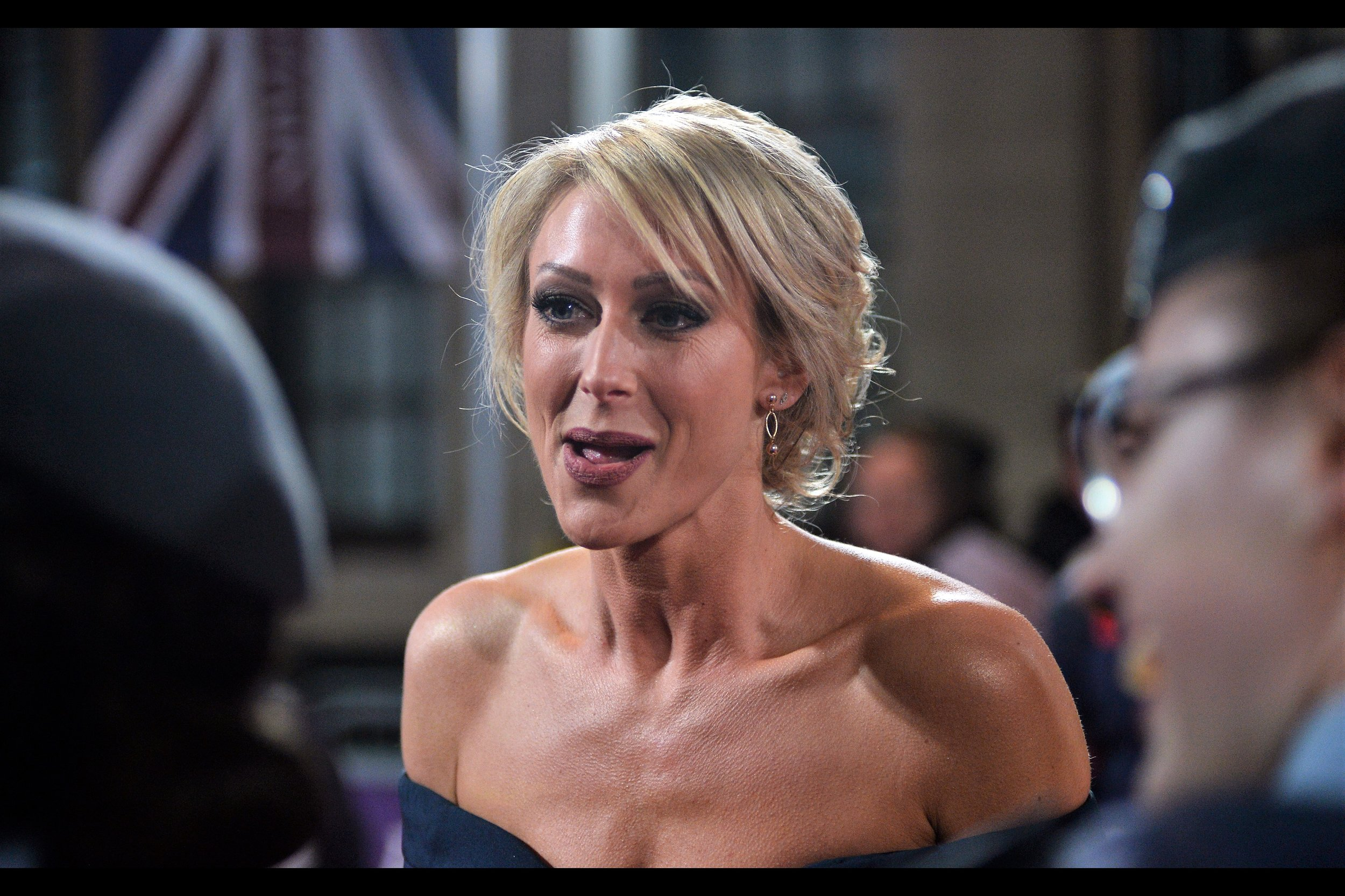 """""""Let's just say I find your proposal intriguing and I'm going to run it by a combination of my lawyer, husband, accountant and priest before I get back to you""""  - this is Faye Tozer. I don't know if she's married."""