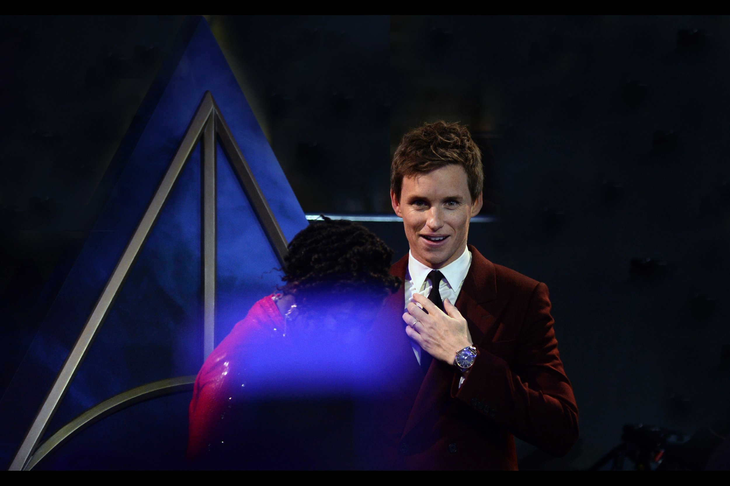 "It's Eddie Redmayne!! Sure, he's won an Oscar for portraying Professor Stephen Hawking in    ""The Theory of Everything""   , but he's surely better known for his delivery of  ""   I CREATE LIFE!!!!!!    <whisphers> … and I destroy it""  in Jupiter Ascending?"