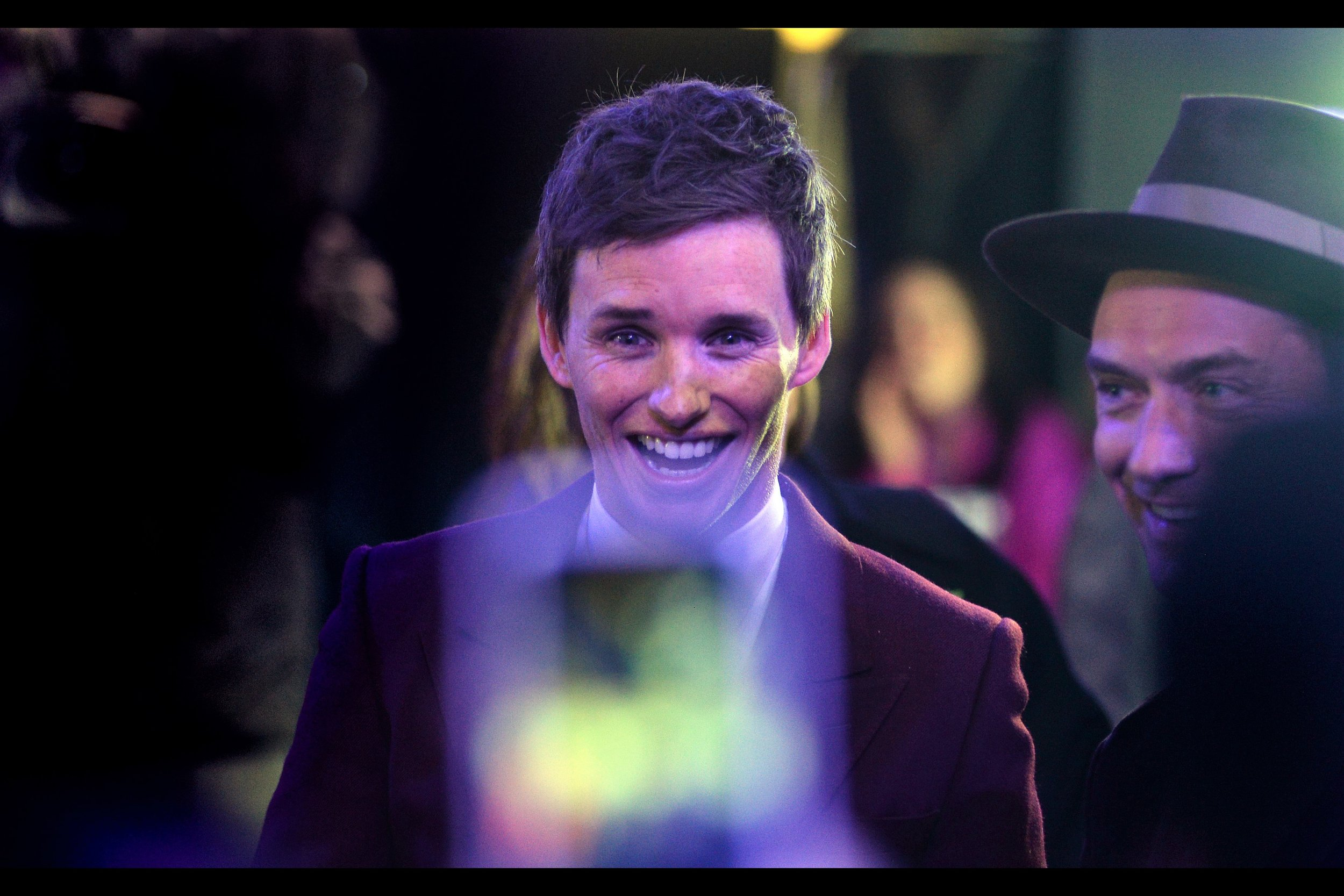 """It was big, and crazy, and I made some weird decisionsat the  """"Fantastic Beasts : The Crimes of Grindelwald""""  premiere"""