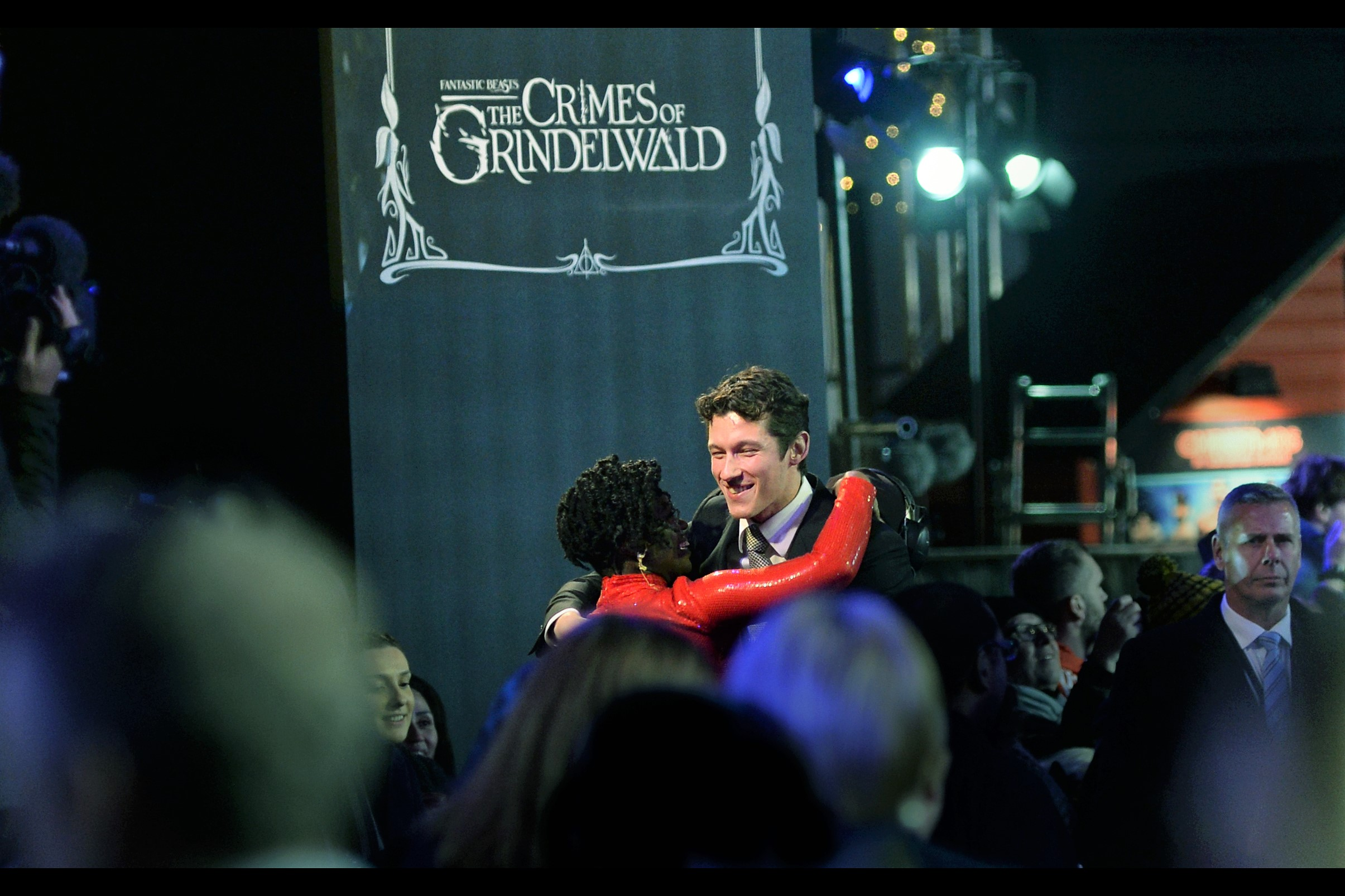 """I appreciate the hug, but I'm not really that influential where future casting decisions are made…. by which I mean, I'm right there at the Big Table : keep hugging!!""  - Callum Turner plays Newt Scamander's brother in the movie."