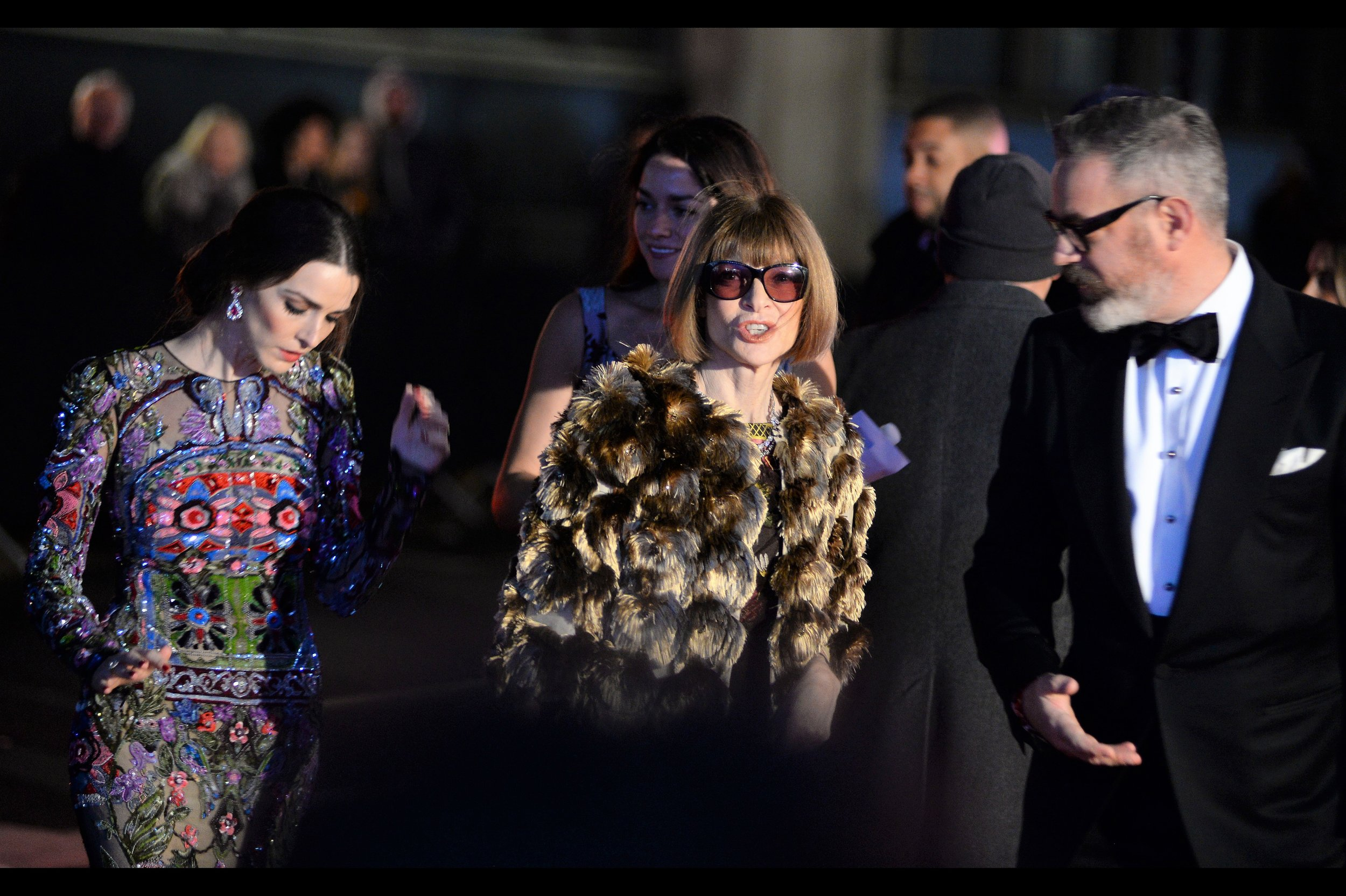 """Just because I was in that movie doesn't mean I'm about to sign autographs…""  - Anna Wintour might be best known as a longtime editor of Vogue, but her imdb credits include Oceans 8 and Zoolander 2."