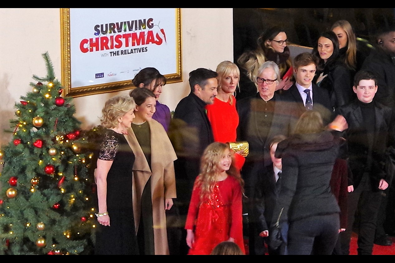 """So the straw poll of fans online suggests violence, alcohol, drugs, lying and staying with random strangers are the most popular means of Surviving Christmas with ones relatives… anyone care to comment?"""