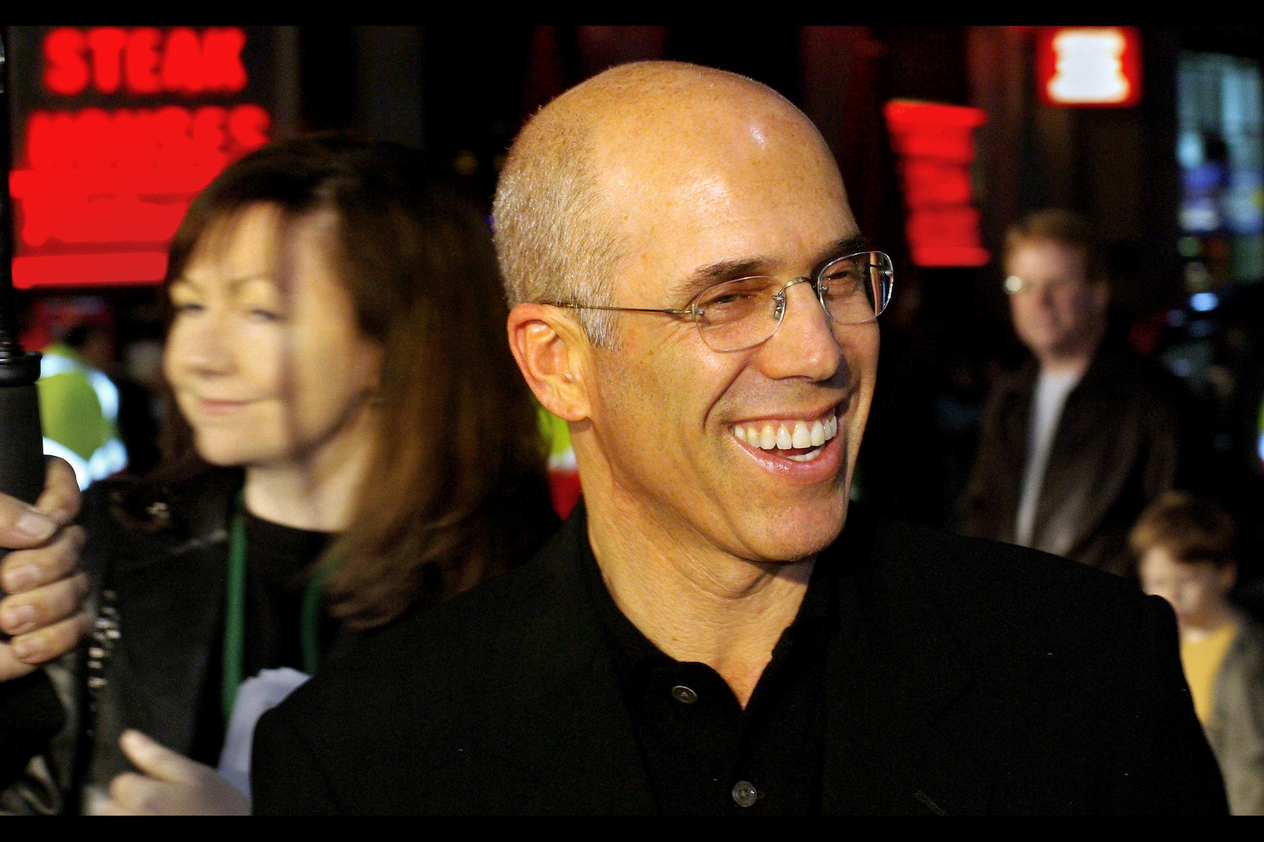 "He puts the upper-case K into ""Dreamworks SKG"" - Jeffrey Katzenberg!"