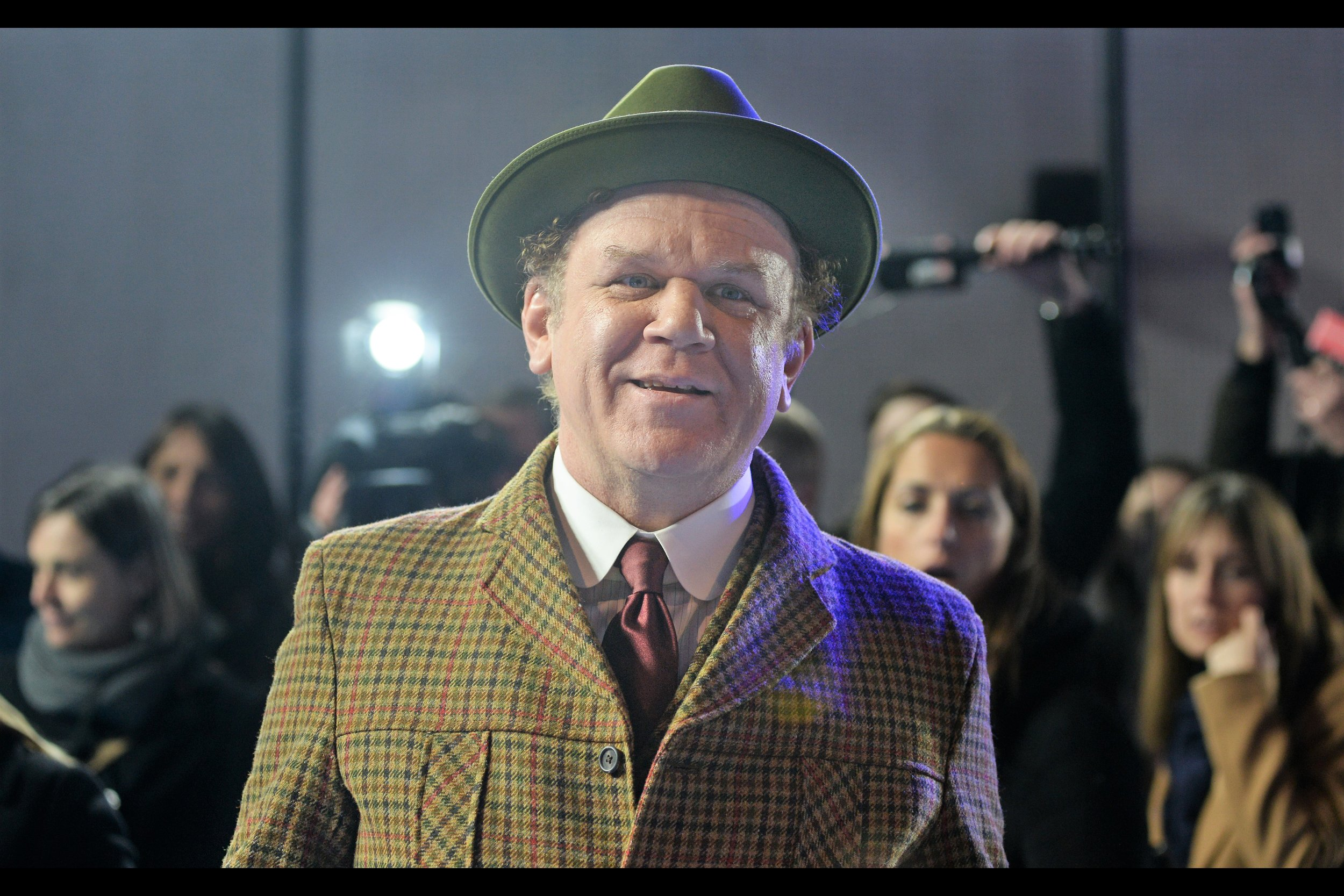 If John C Reilly judges you buy the weave of your suit jacket and the colour of your satin tie; and like me you're wearing a white thinsulate top under a black leather jacket….. you'd better be ready for what happens next.