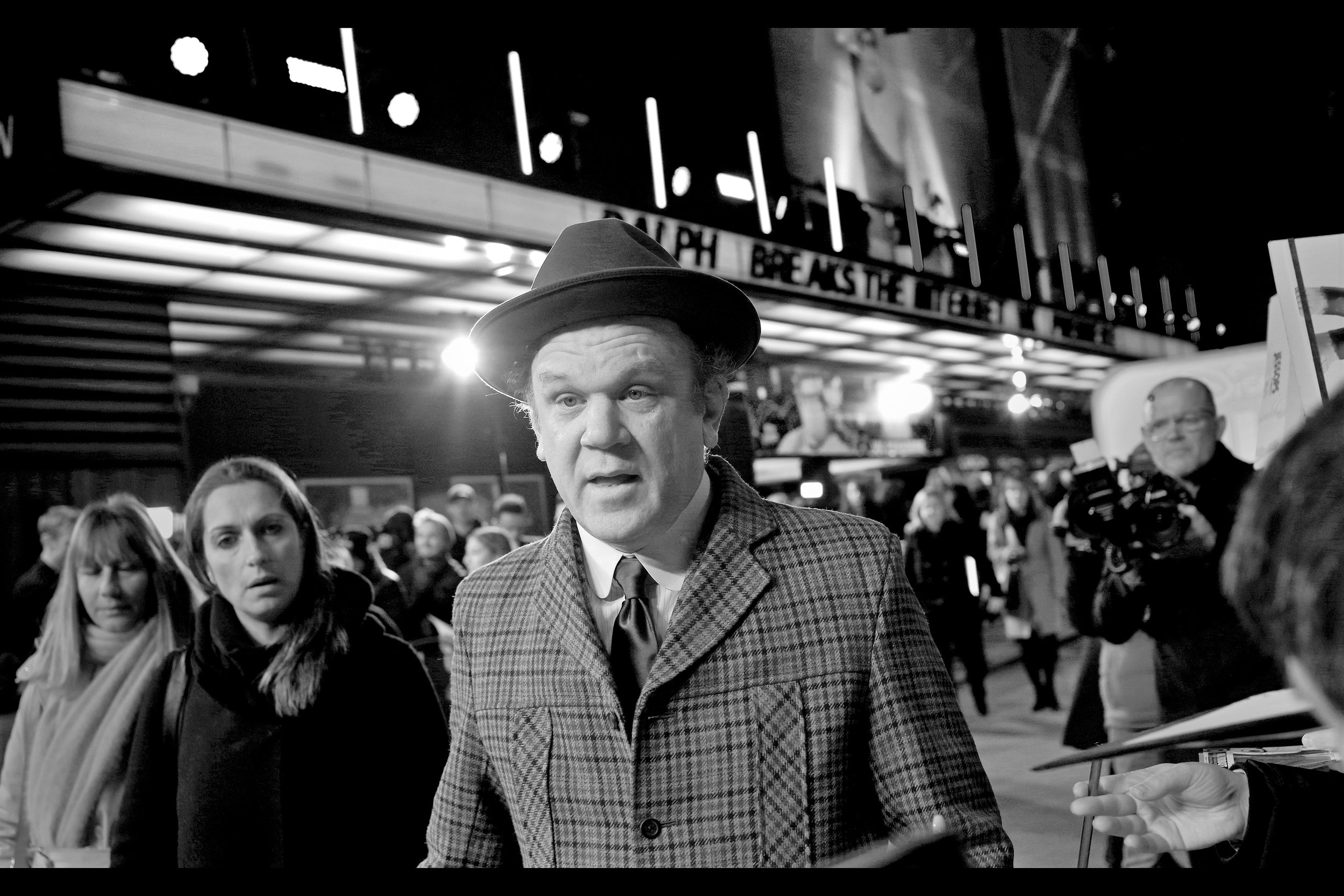 "John C Reilly moves on, is what John C Reilly does. (I last photographed him last month at the    ""Stan & Ollie"" premiere    and prior to that    ""Kong : Skull Island""   ."