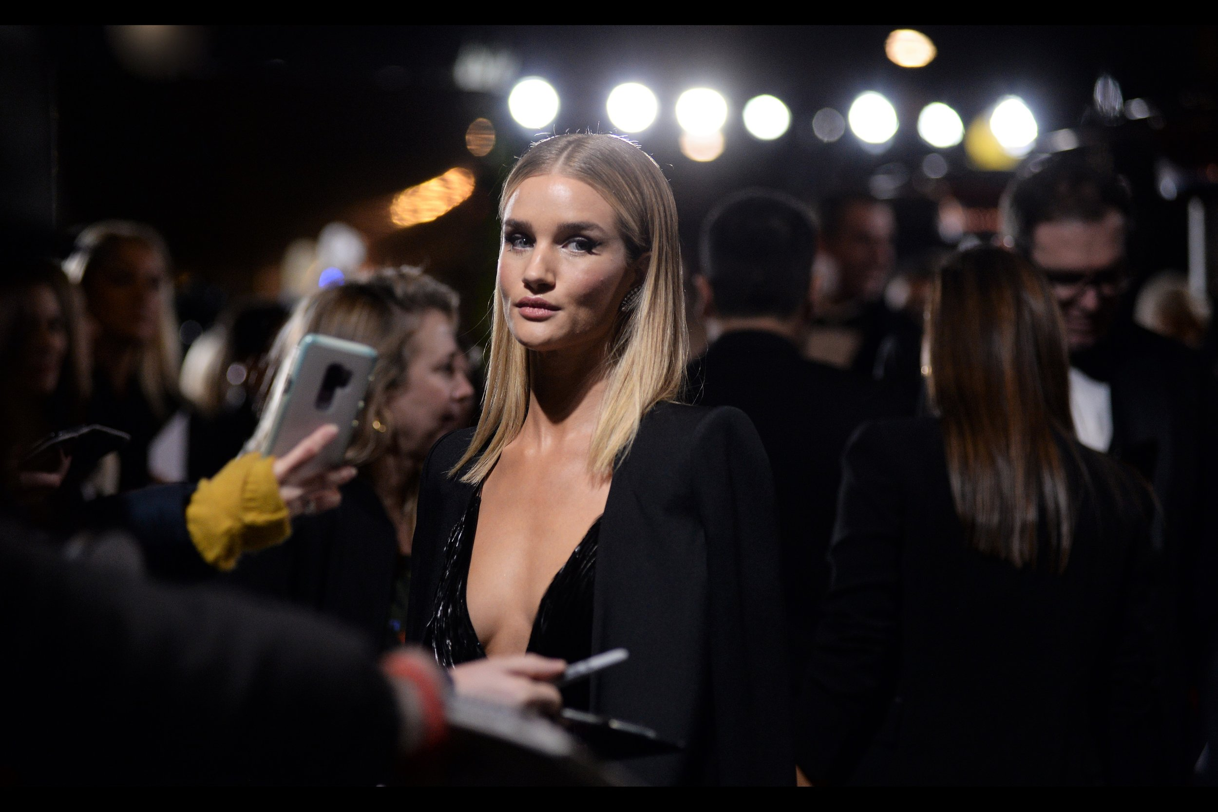 """You don't… want my autograph, do you?""  - sadly I have two cameras on me (three if you count the GoPro) (four if you count the mobile phone), and can't put either down to grab an autograph from Rosie Huntington-Whitely."
