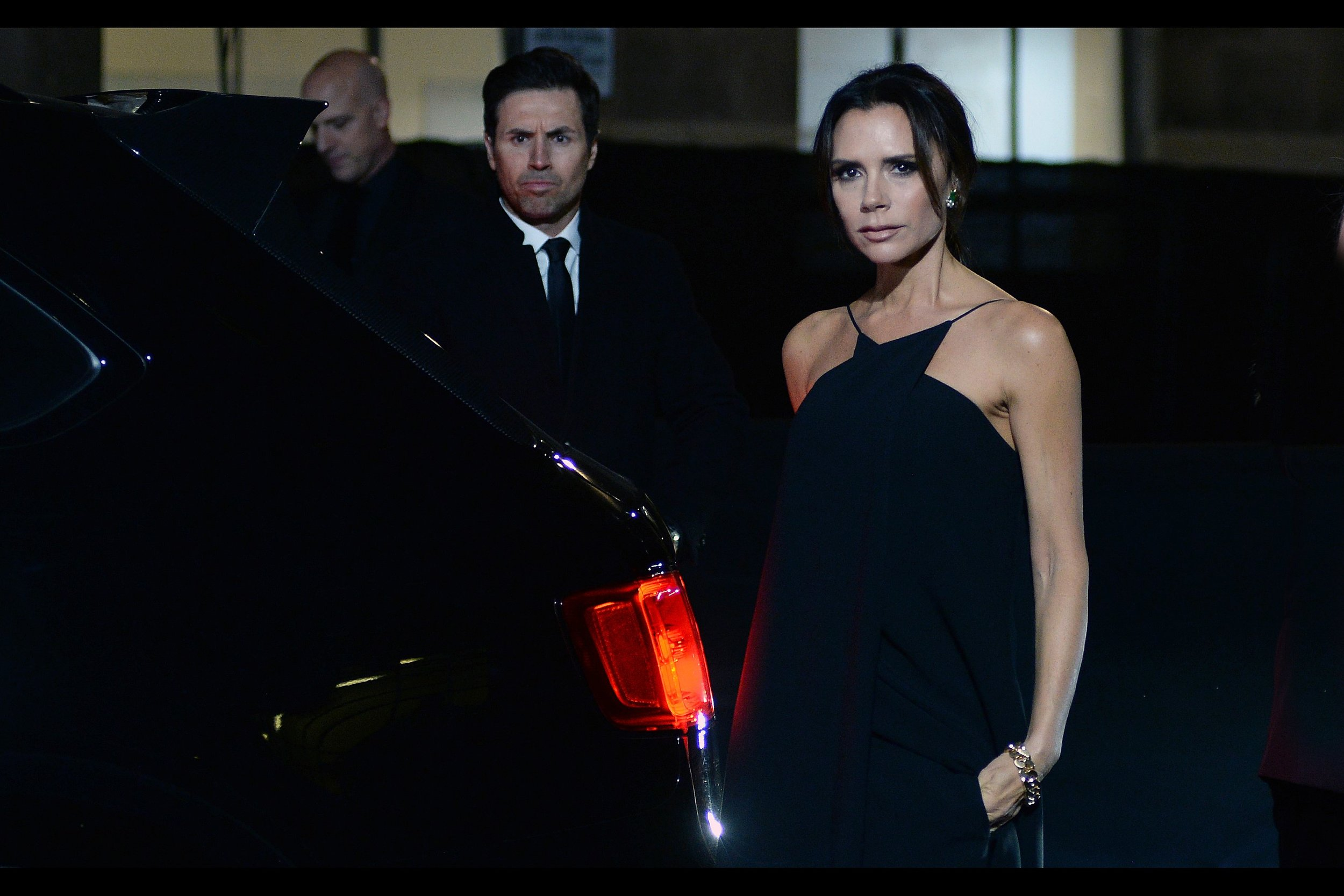 "It's Victoria Beckham! I've previously photographed her as a kind of bent over hunchback (my angle, not her fault) at the premiere of the documentary ""The Class of 92"" many moons ago. She seems…. to be judging me, somewhat. Possibly harshly."