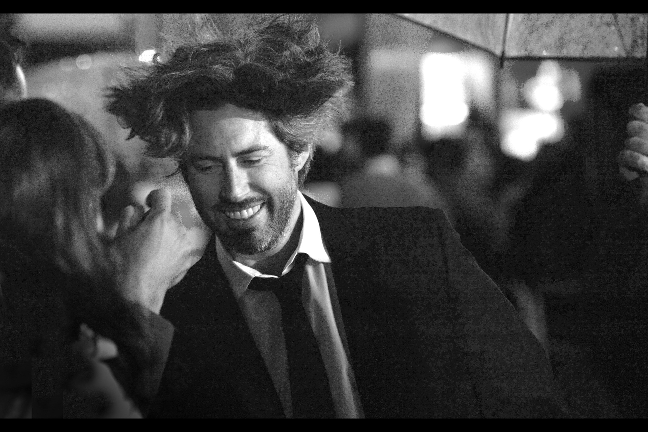 "October 14th : Director Jason Reitman's hair was the highlight (and arguably only) attendee at    ""The Front Runner"""