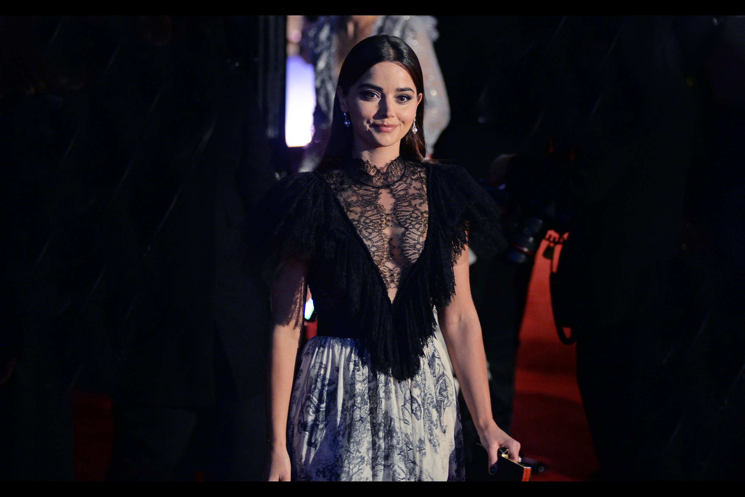 November 18th : Jenna Coleman and others (who weren't Jenna Coleman) added class to the    Evening Standard Theatre Awards   .