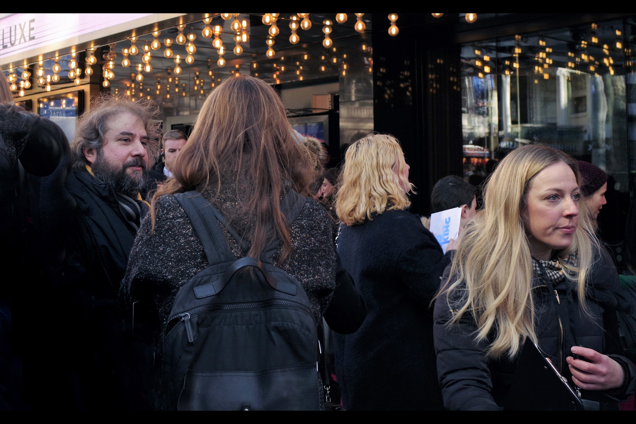 Despite the momentary excitement of The Germans To My Right, the man on the far left of this photo is (almost certainly) not Oscar winning director Peter Jackson. Or so I (almost certainly) think.