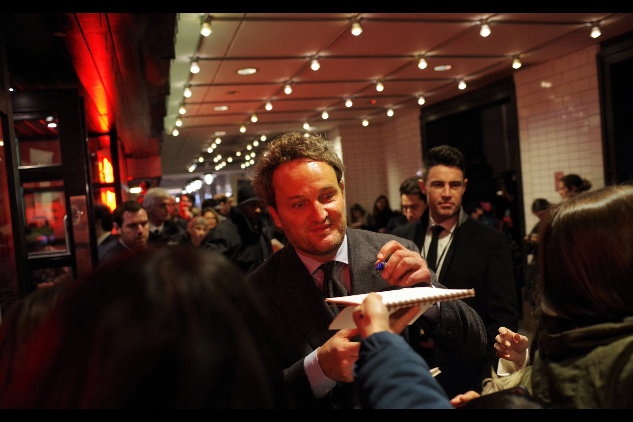 """""""Okay… I asked a genuine question, and you emphatically gave a genuine answer, and I can only respect that""""  - Jason Clarke's imdb entry is quite long and impressive, but I've photographed him only once before, at    the premiere of """"Mudbound""""   ., back in 2017."""