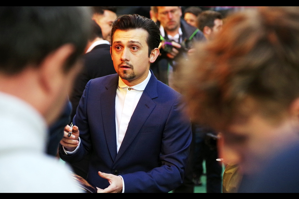 """You want me to sign that as the name of the character from the movie I was in? If it's the one I think you're thinking of… I'd really not""  - Craig Roberts was excellent in the 2010 movie ""Submarine"", but the name of his character in the 2014 movie ""Neighbors"" is probably best not uttered on this website… check out    imdb   ."