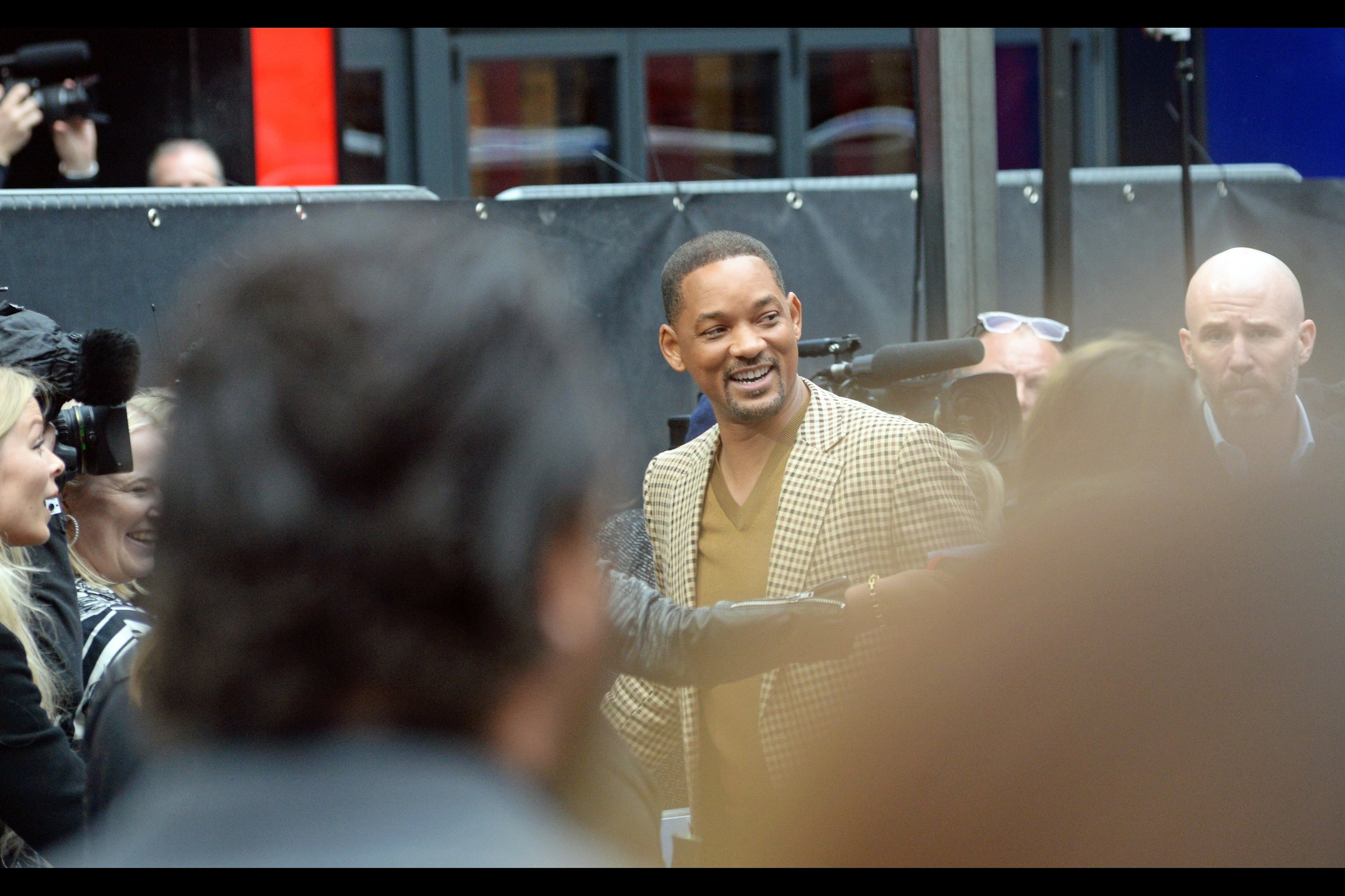 """Yeah… I can probably sign that. I'm also a Justice of the Peace**""  - I've photographed Will Smith at premieres as diverse as    Hancock   ,    Men In Black 3   ,    Seven Pounds    ,    Focus    and    Suicide Squad   .  ** unverified."