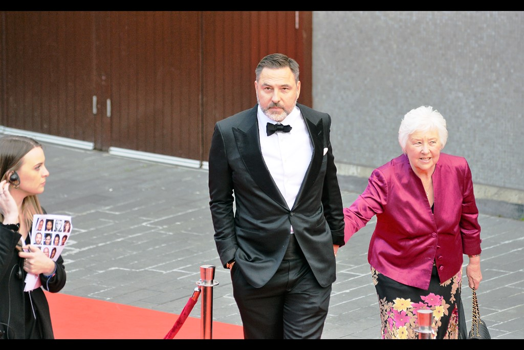 """Am I taking my Mother to the TV Baftas? Don't be ridiculous - she's taking ME""  - Comedian David Walliams."