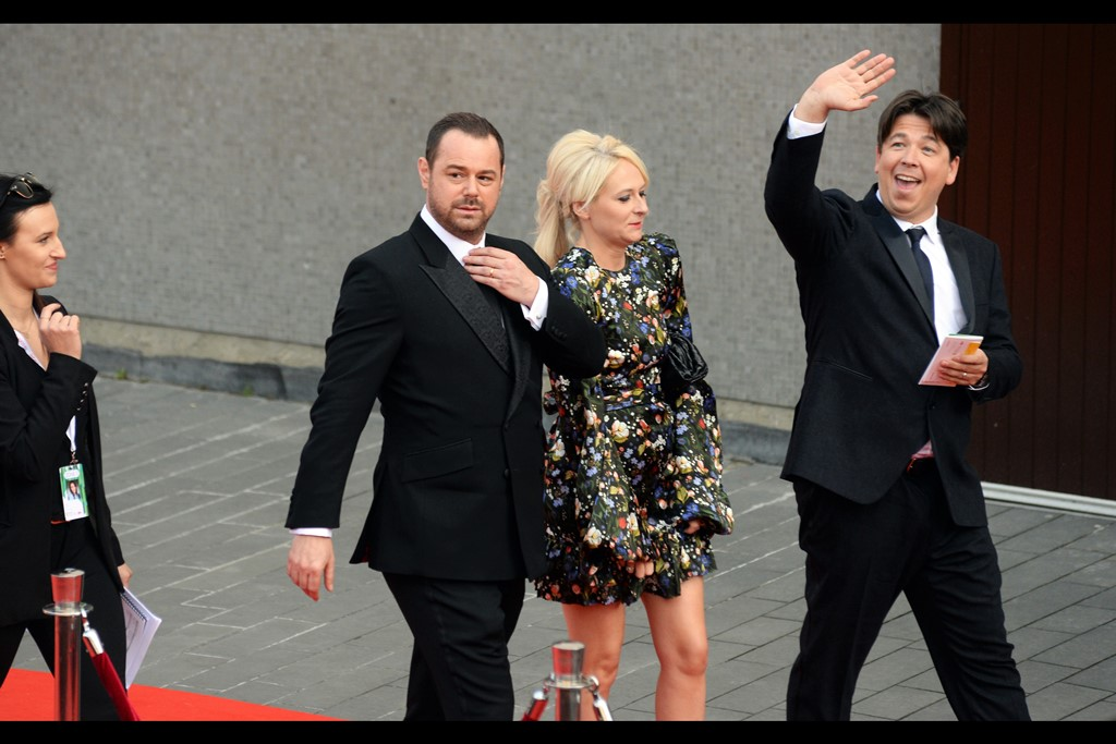 As Michael McIntyre continues to bask in the glow of adulation from people located at an even greater elevation than I am, he's followed by the dapper form of Danny Dyer, still fresh from signing no less than 20 autographs in one sequence at the recent Olivier Awards.