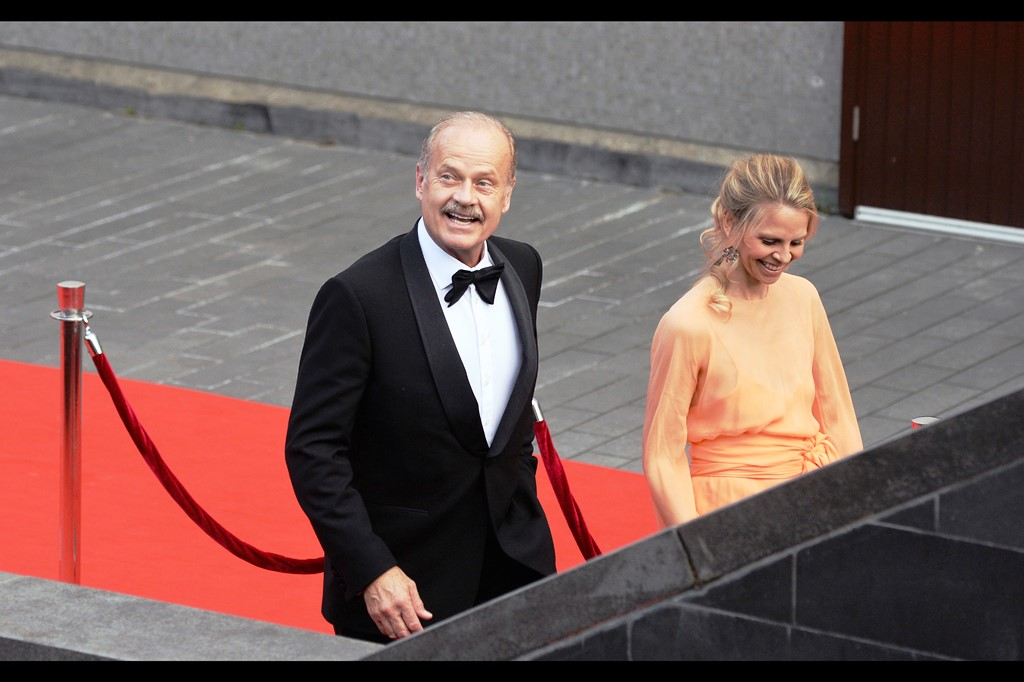 """""""You're fans? That's awesome. But what are you doing over there, when you could be buying theatre tickets to my play right now?""""  - I last photographed Kelsey Grammer at this year's Olivier Awards."""