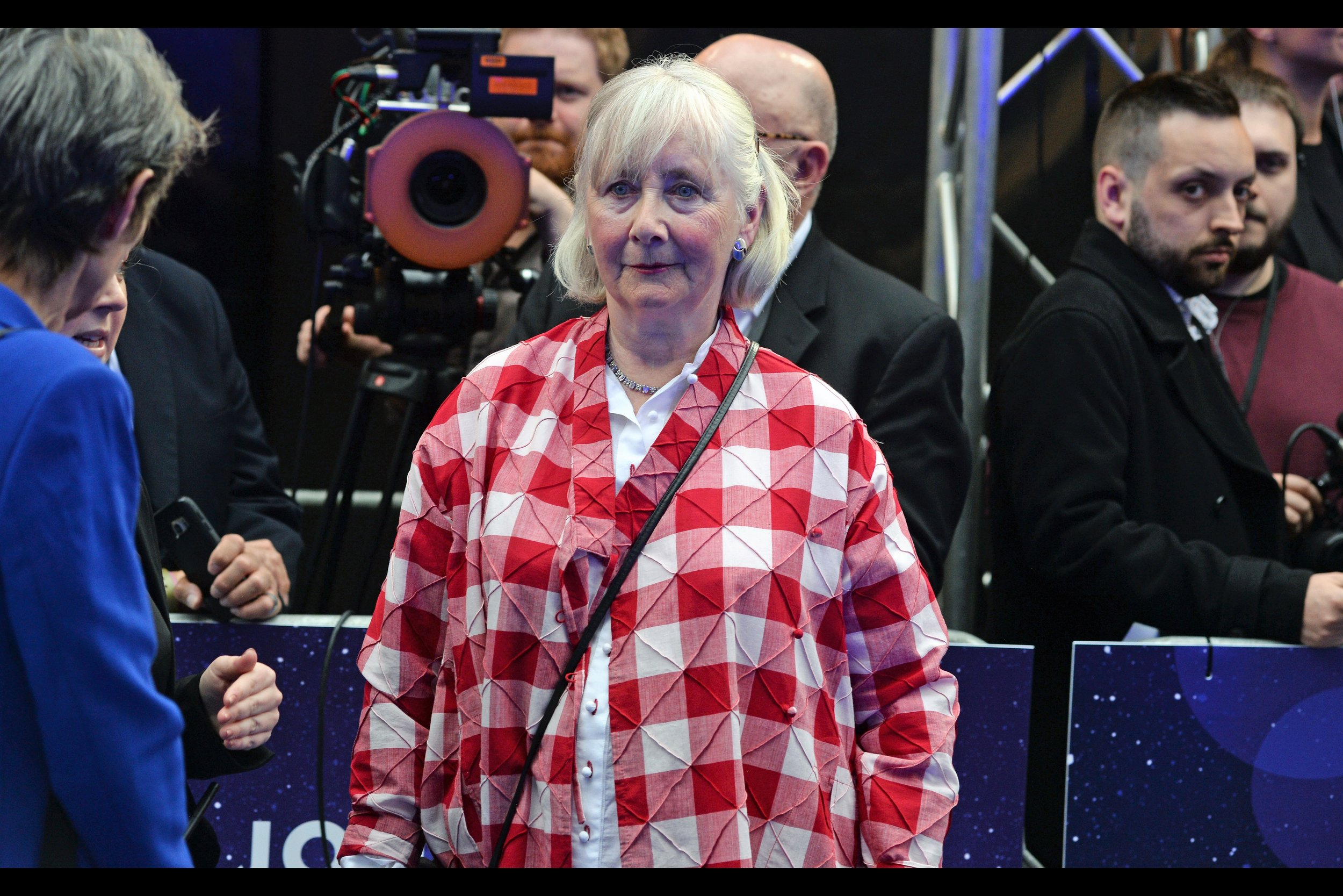 Gemma Jones' 100+ imdb credits include three Harry Potter films (2, 6 and 7b), and possibly a recent highly successful raid on a tablecloth factory.