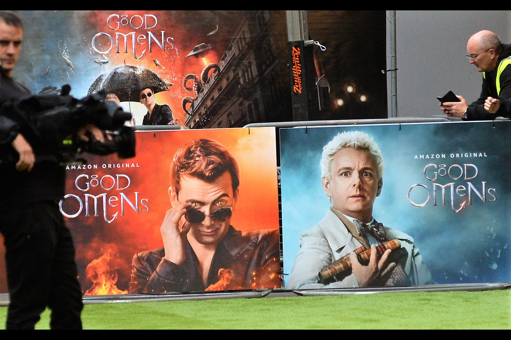 Quite honestly, I wouldn't buy a used car from either of these… It's 'Good Omens'!! I read the book in High School, which might either indicate my age or my intellectual prowess (given I've done 500 premieres over 10+ years without monetising the hobby, it's probably a little bit of both)