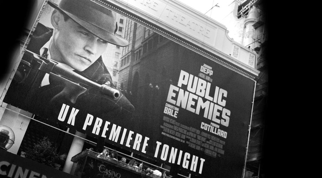 Public Enemies Premiere