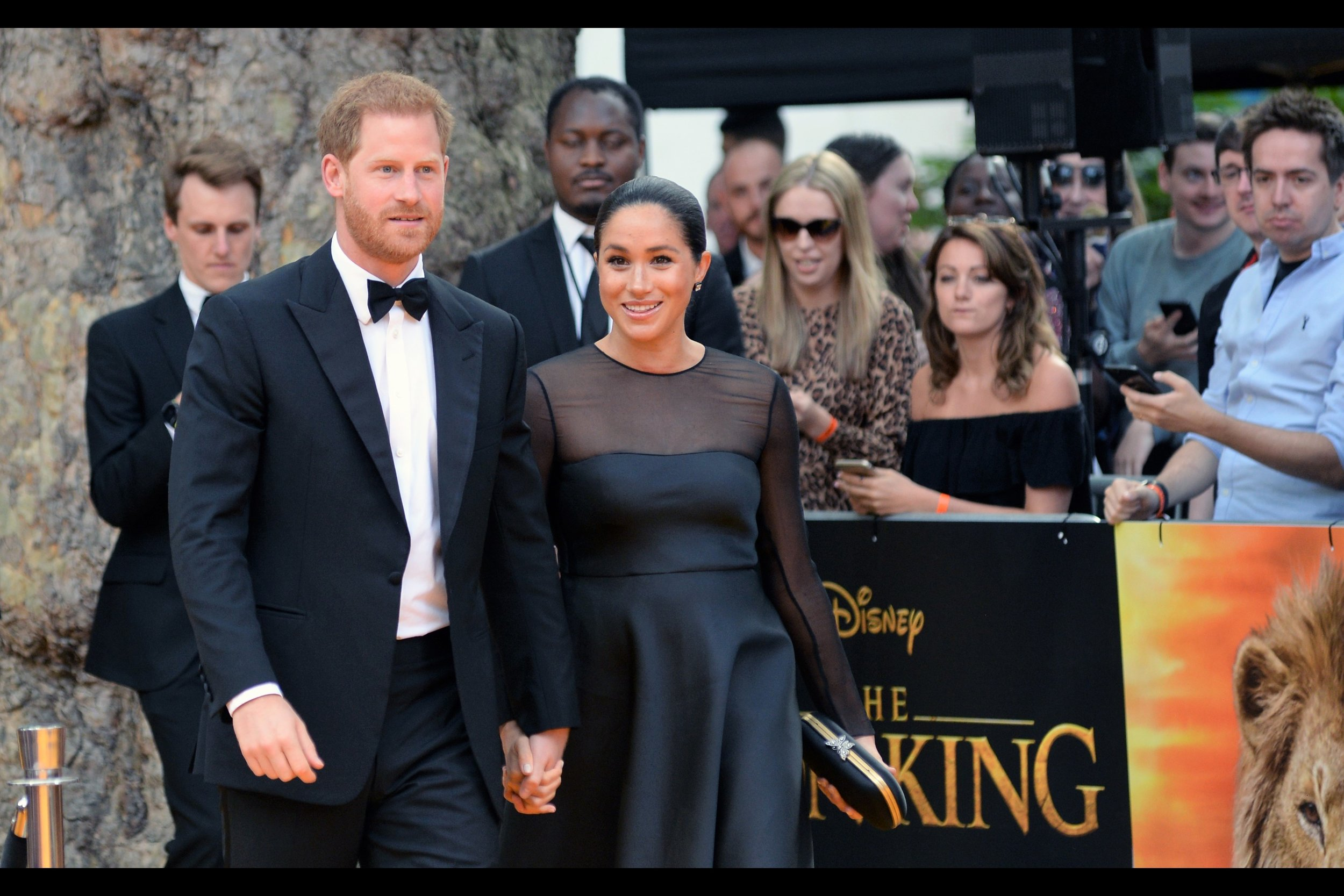 It's the    Lion King (2019)    Premiere - feat. Harry! Meghan! Hans! Pharrell! Jon! Florence! and others not able to be photographed!
