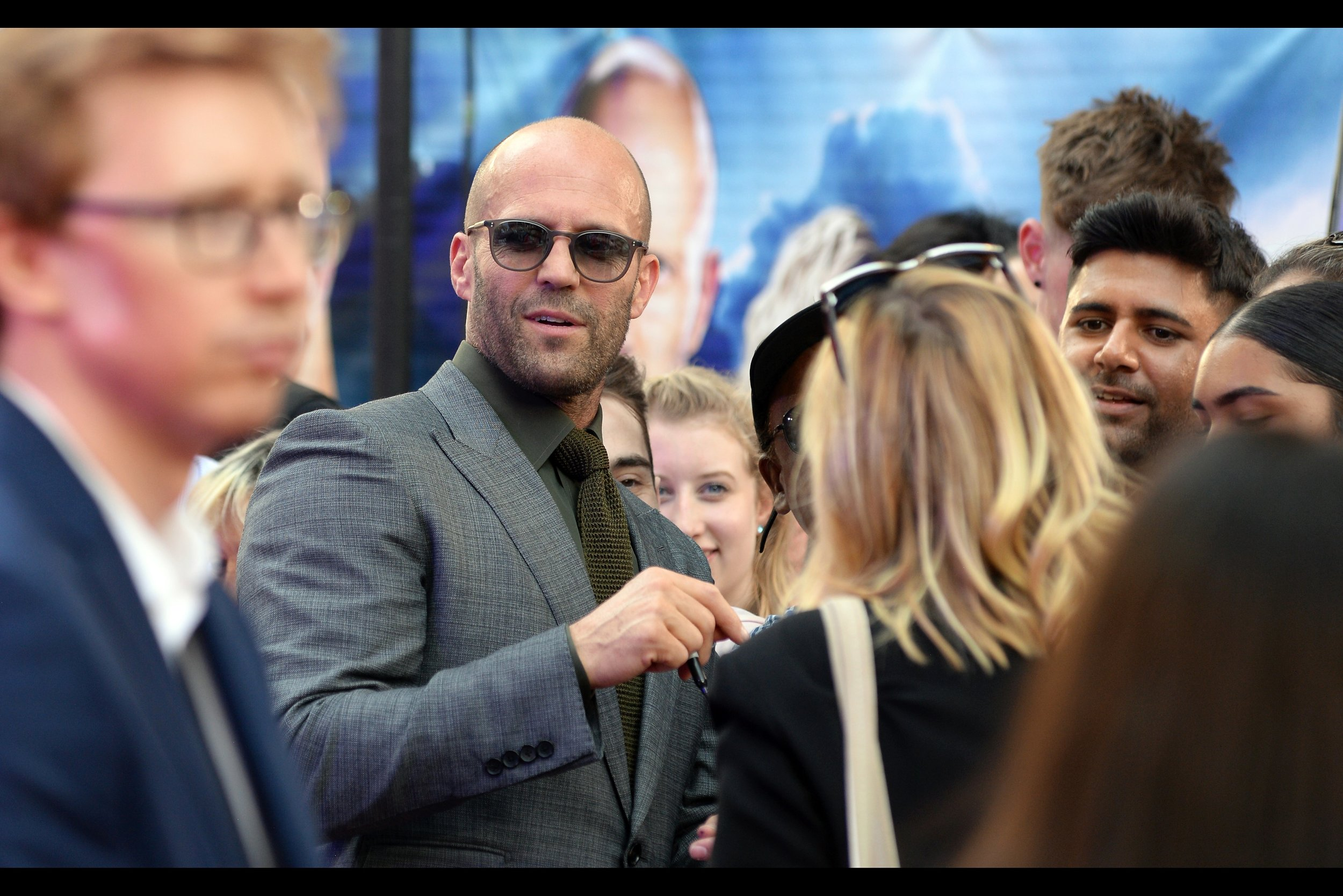 """""""People can change, you know? For instance, that guy over there. One day he might lose that hair and become even more dashing!""""   In my opinion, Jason Statham, The Rock, Vin Diesel and quite frankly this whole franchise has done more for the self-esteem of bald and balding men than any I can think of. Bless 'em."""