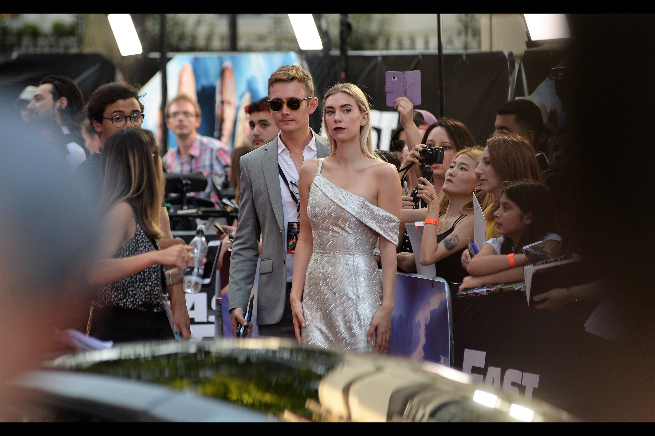 """It's Vanessa Kirby! She in this film, and also The White Widow in the most recent    Mission Impossible film   , and the queen's sister Princess Margaret across 17 episodes of The Crown,    Season 1    and    Season 2    (for which she won a TV Bafta). Her hair has the current status of   """"Pristine""""."""
